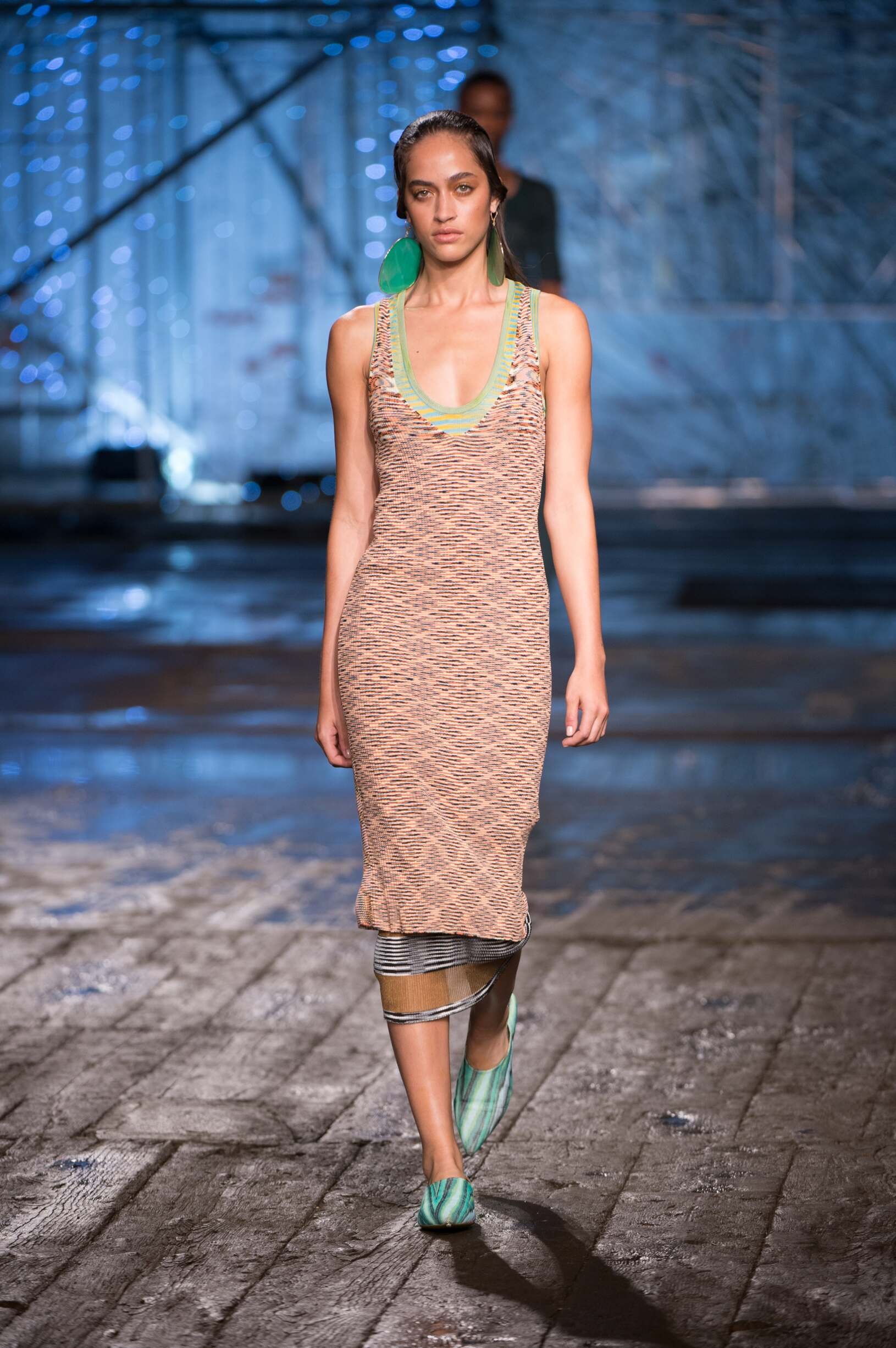 Catwalk Missoni Woman Fashion Show Summer 2017