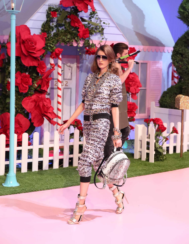 Catwalk Philipp Plein Woman Fashion Show Summer 2017