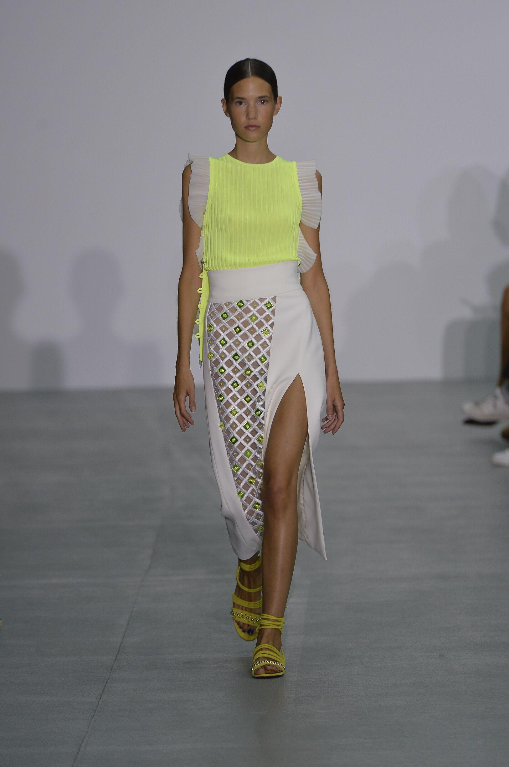 David Koma Spring Summer 2017 Womens Collection London Fashion Week