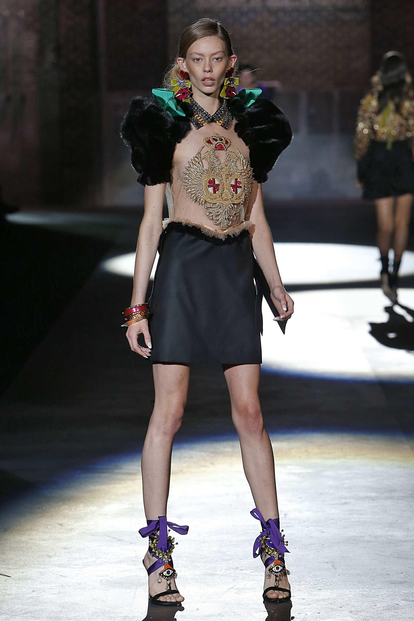 Dsquared2 Milan Fashion Week Womenswear