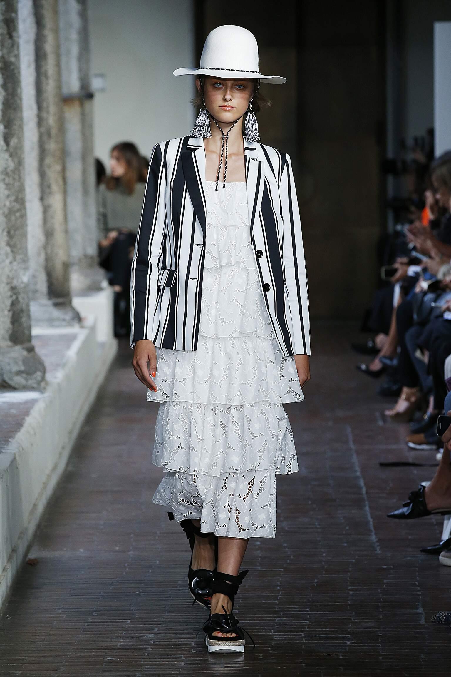 Fashion Model Blugirl Catwalk