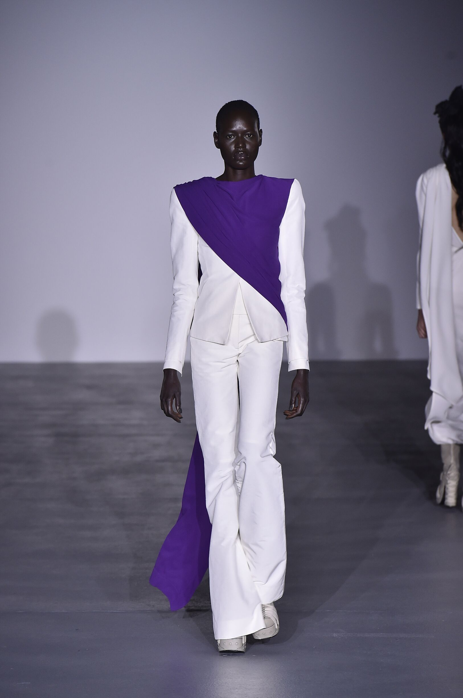 Fashion Model Gareth Pugh Catwalk