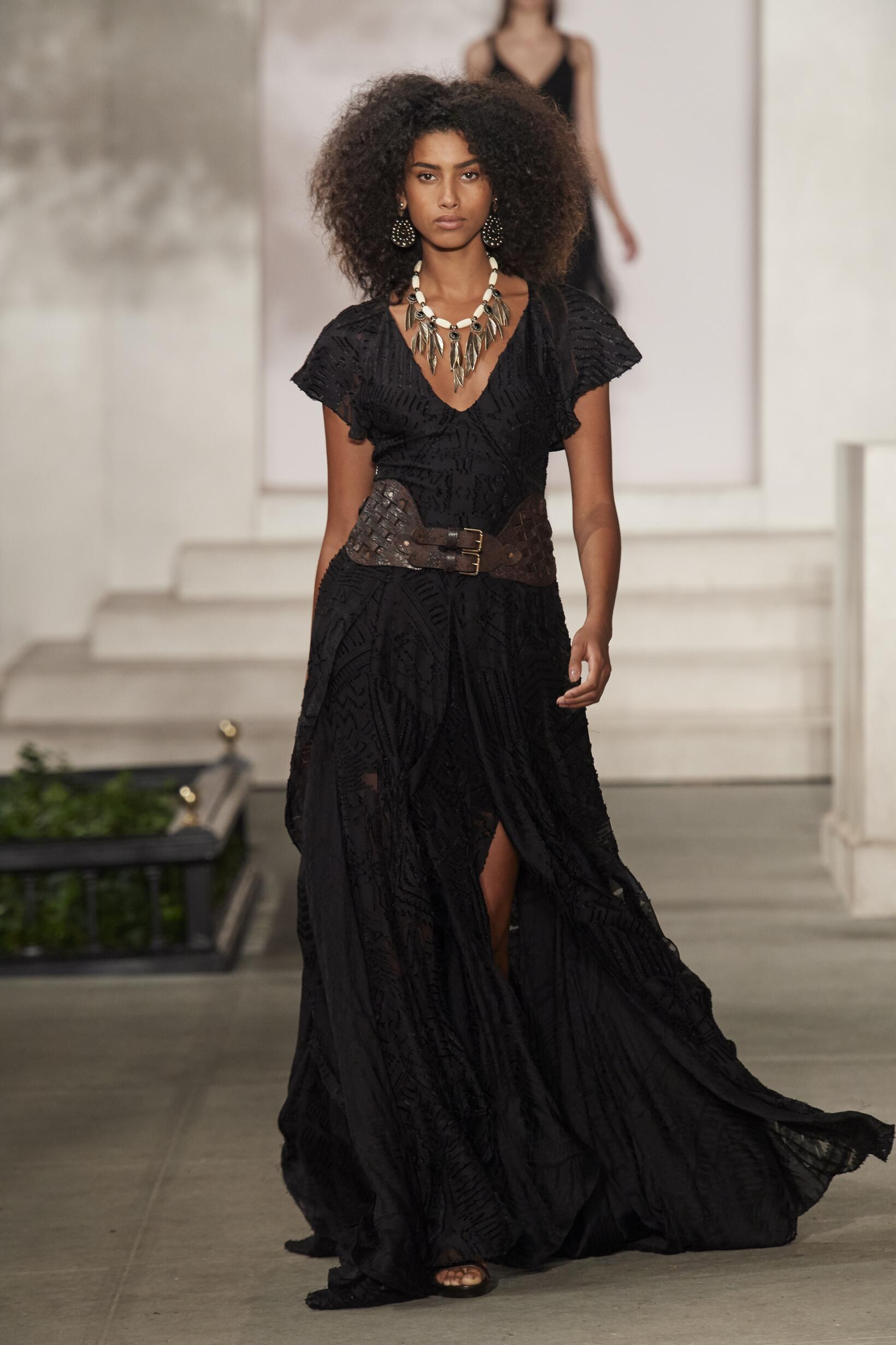 Fashion Model Ralph Lauren Catwalk