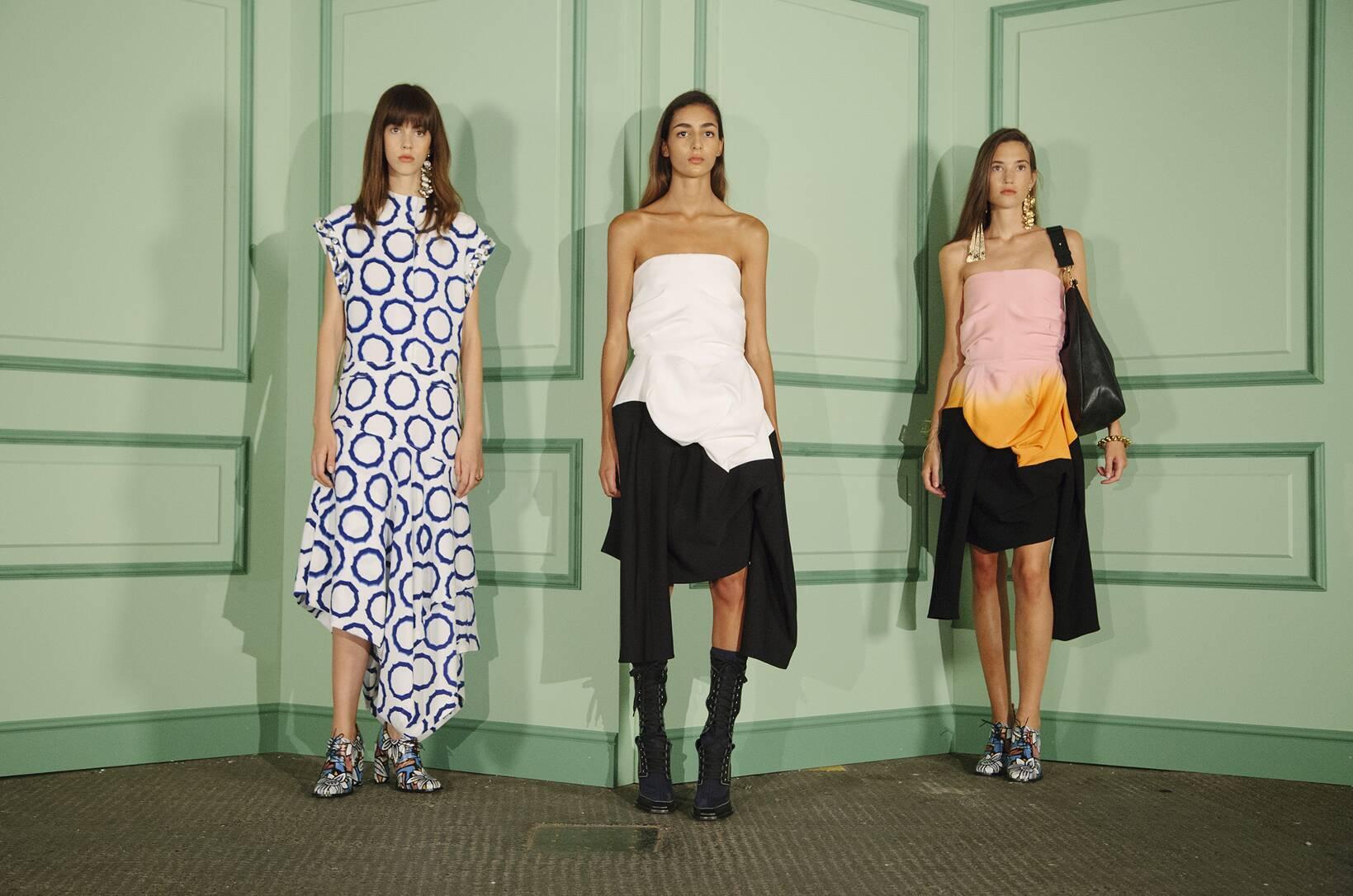 Fashion Show Womenswear Backstage J.W. Anderson