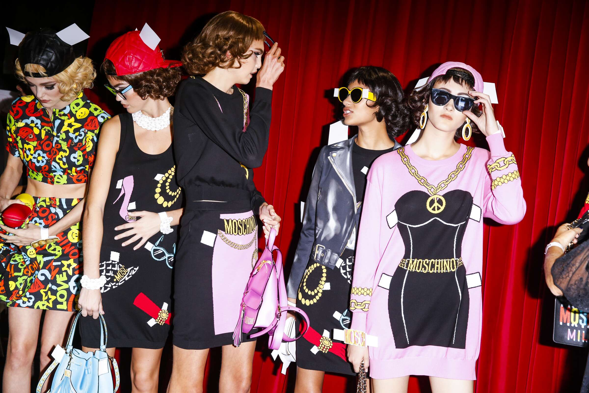Fashion Show Womenswear Backstage Moschino