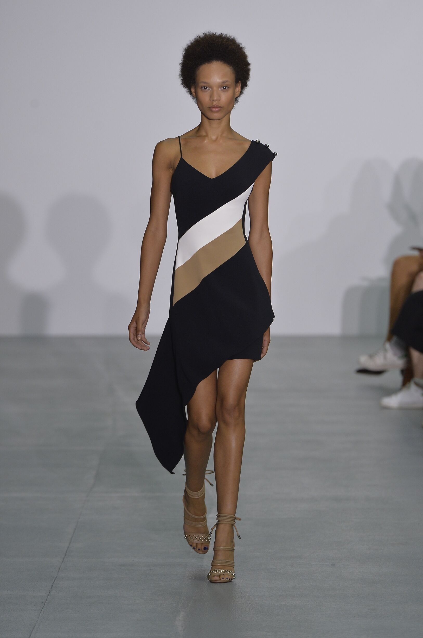 Fashion Woman Model David Koma Catwalk