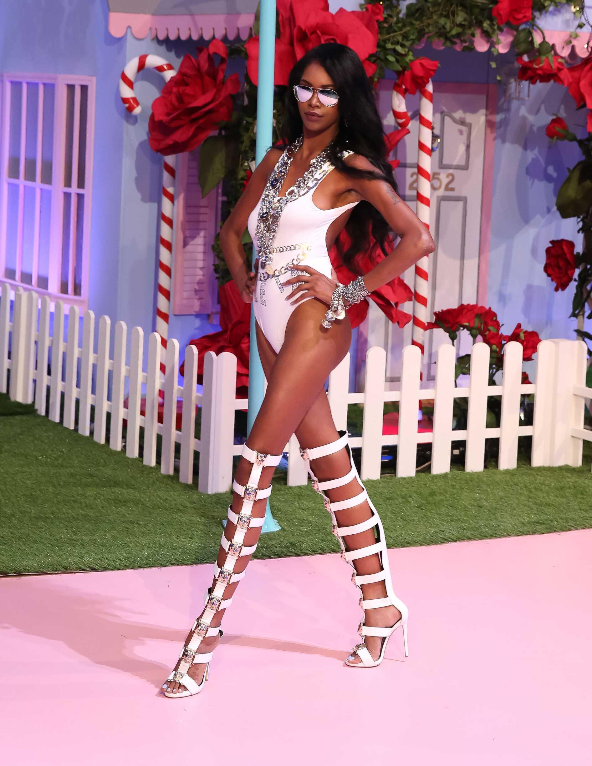 Fashion Woman Model Philipp Plein Catwalk