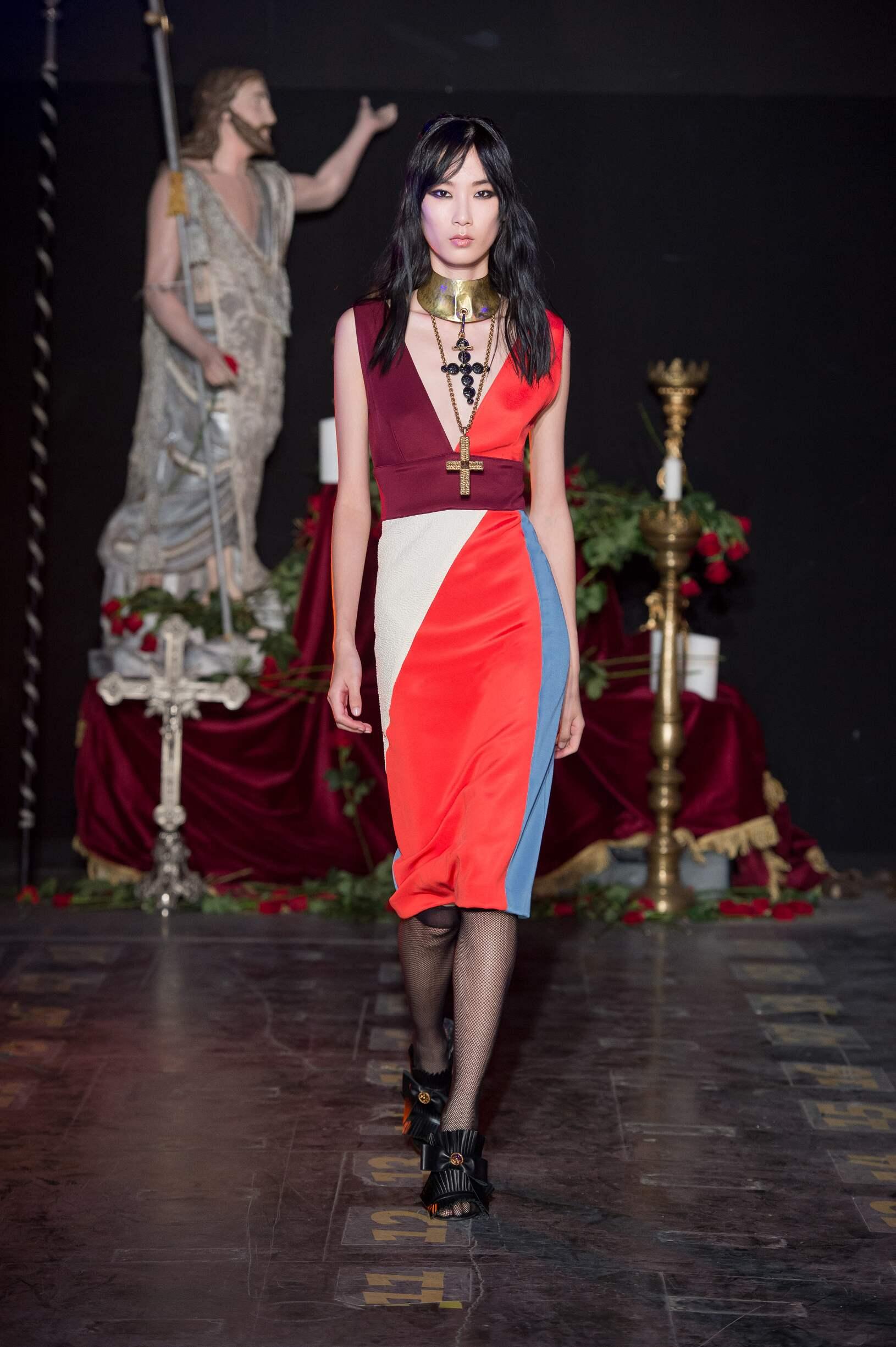 Fausto Puglisi Fashion Show