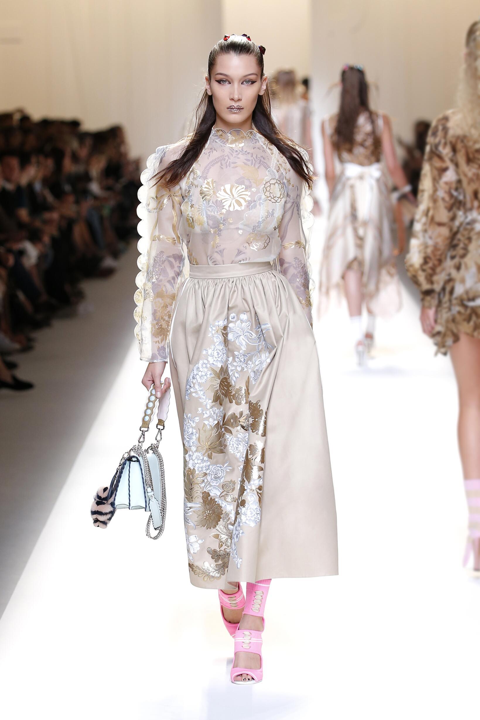 Fendi 2017 Milan Milan Fashion Week
