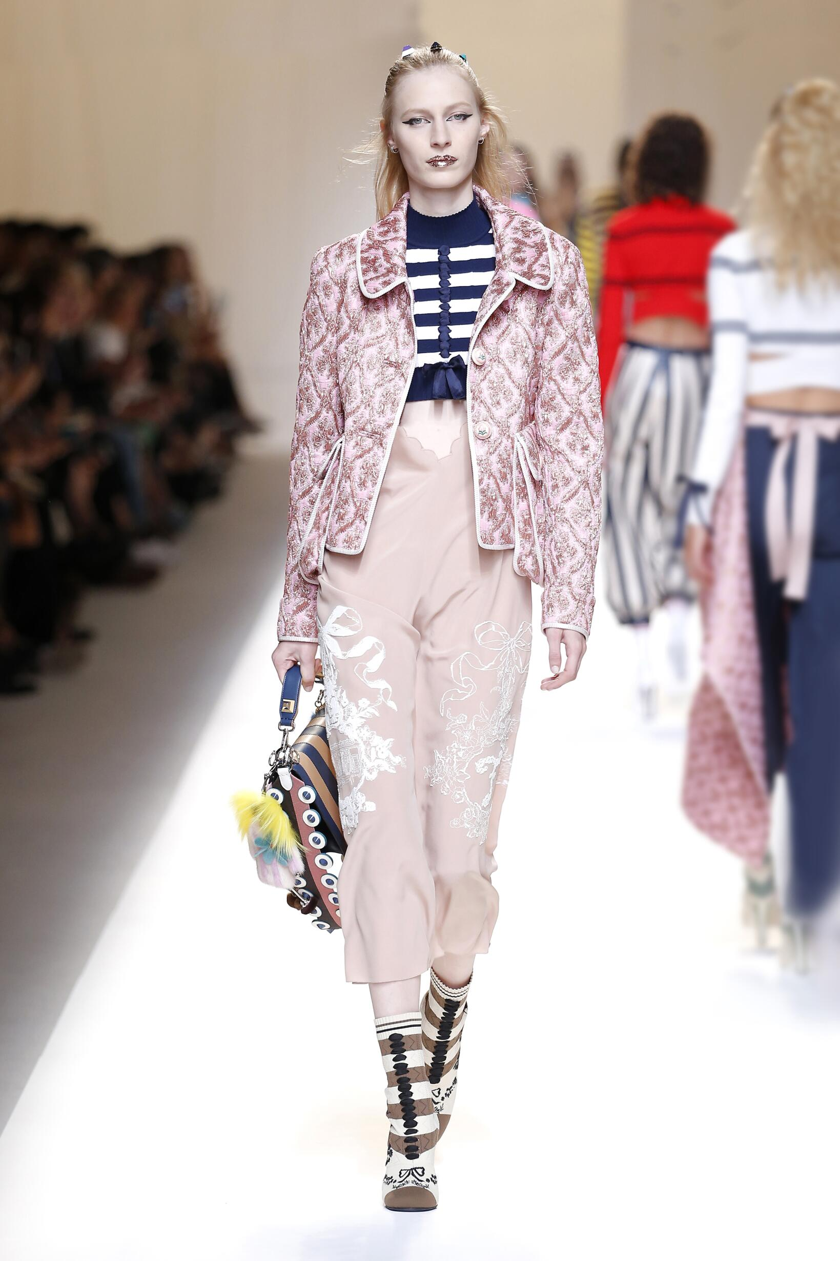 FENDI SPRING SUMMER 2017 WOMEN'S COLLECTION | The Skinny Beep