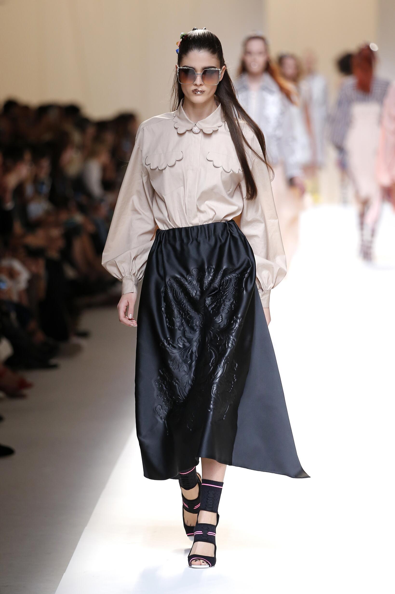 Fendi Woman Style