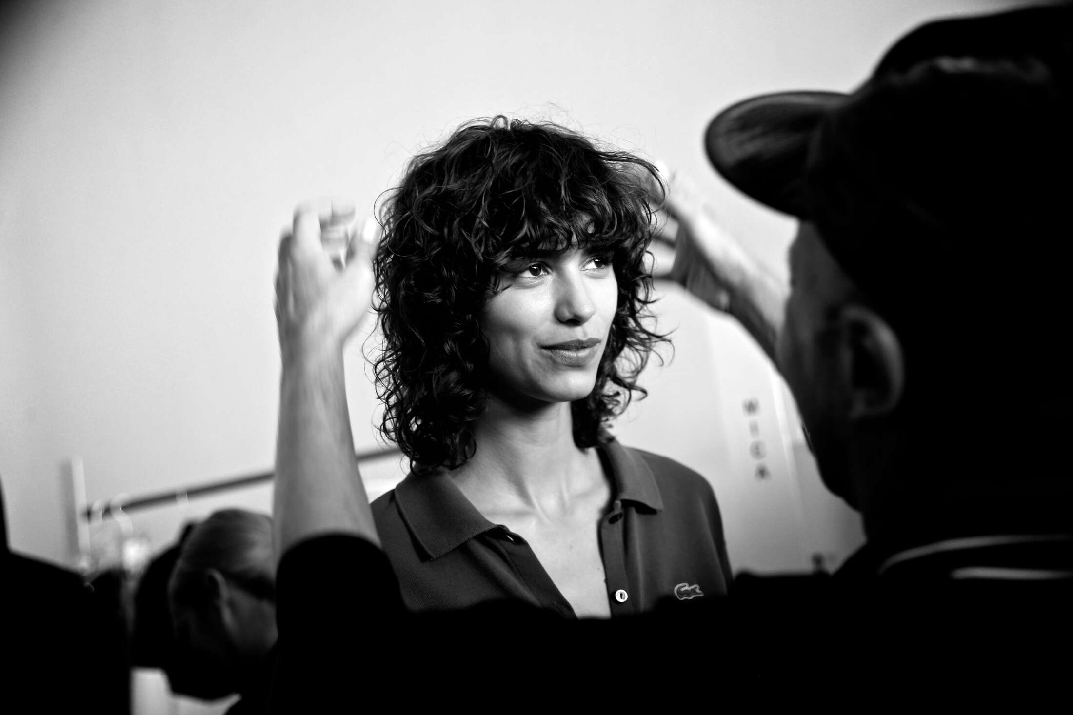 Hairstyle Lacoste Backstage