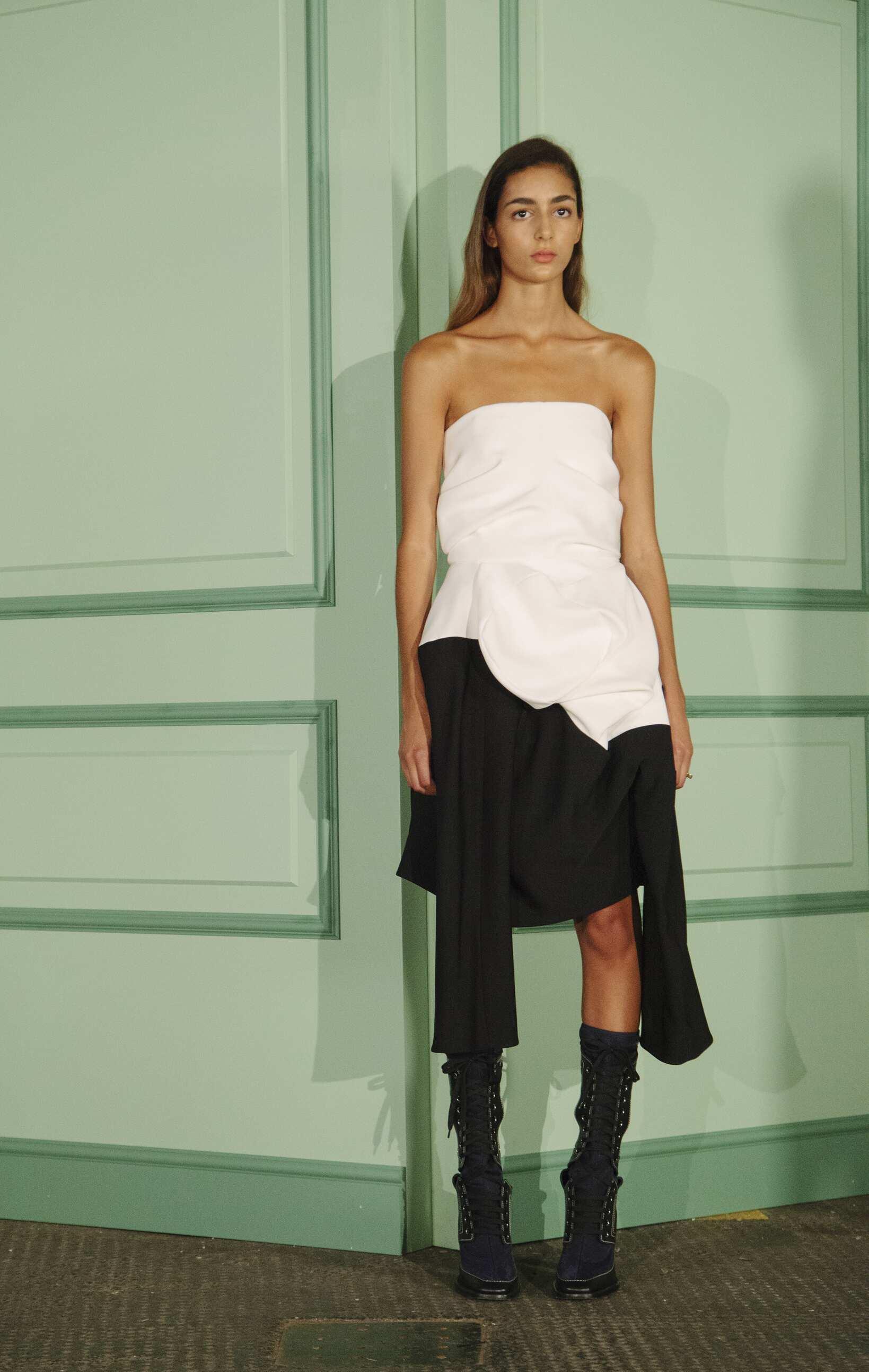 J.W. Anderson Backstage Fashion Model Womenswear
