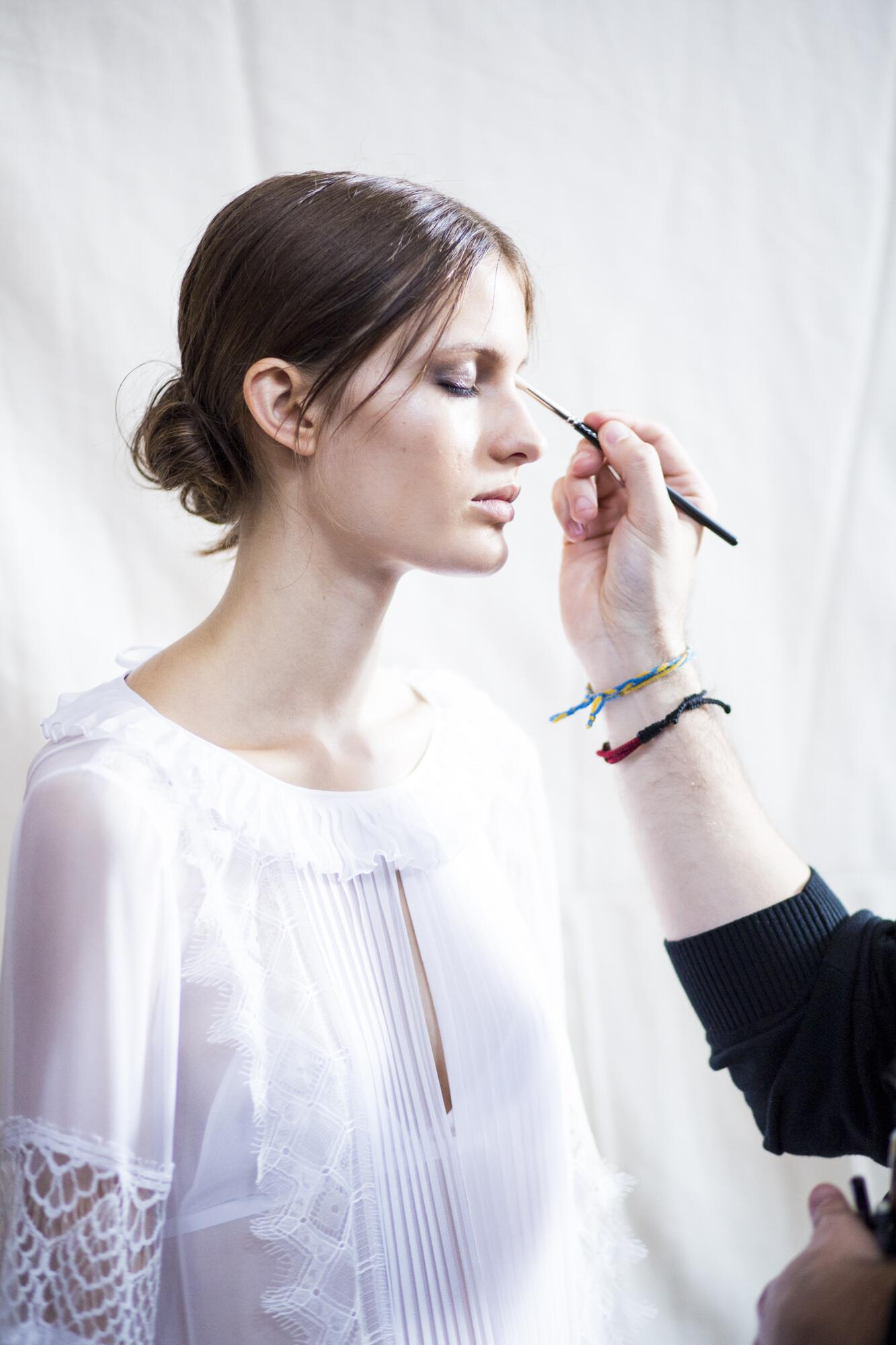 Make Up Backstage Alberta Ferretti Milan Fashion Week