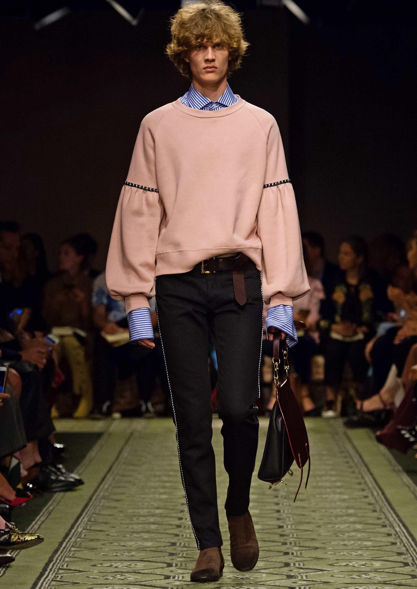 Man Fashion Trends 2017 Burberry