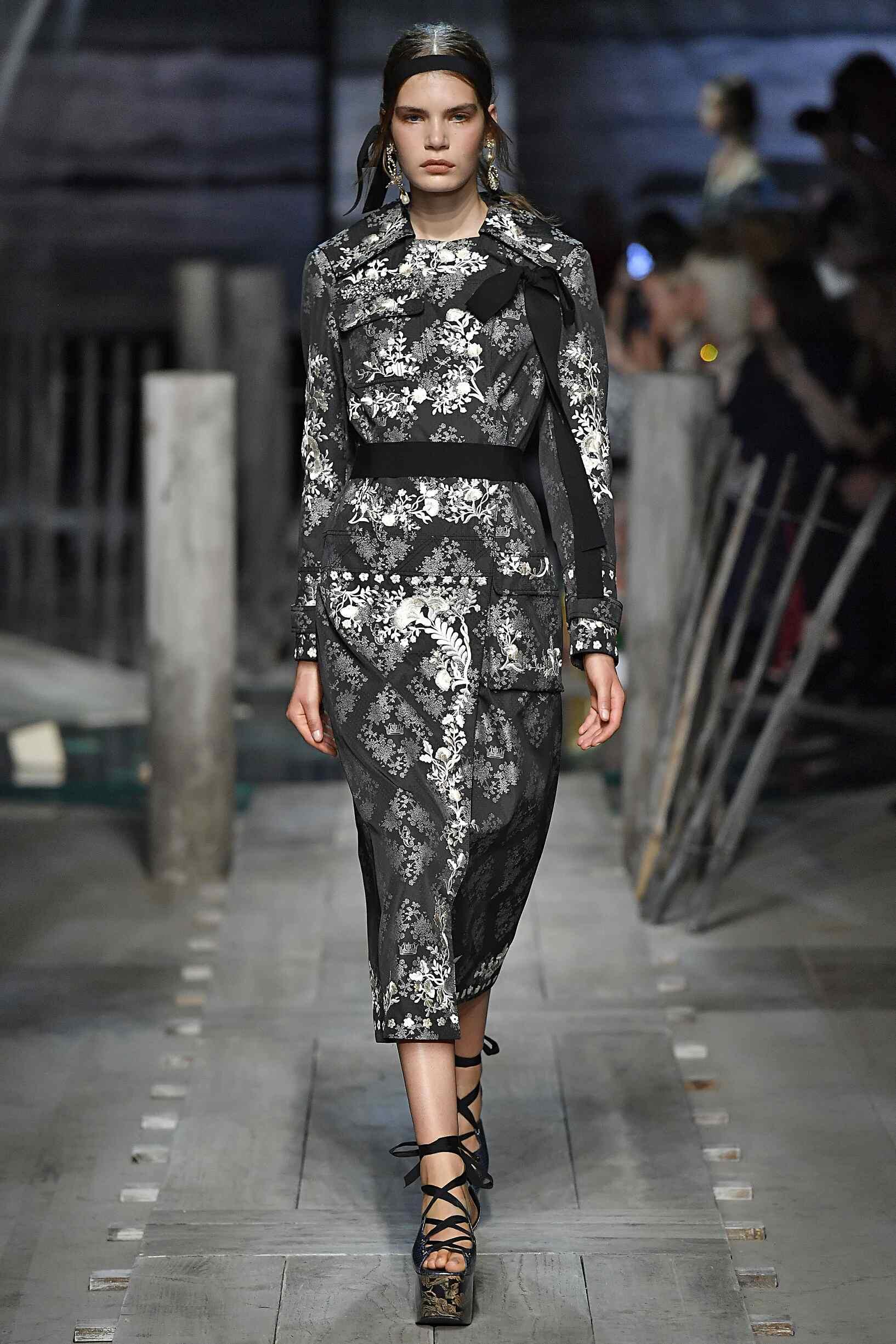 Model Fashion Show Erdem