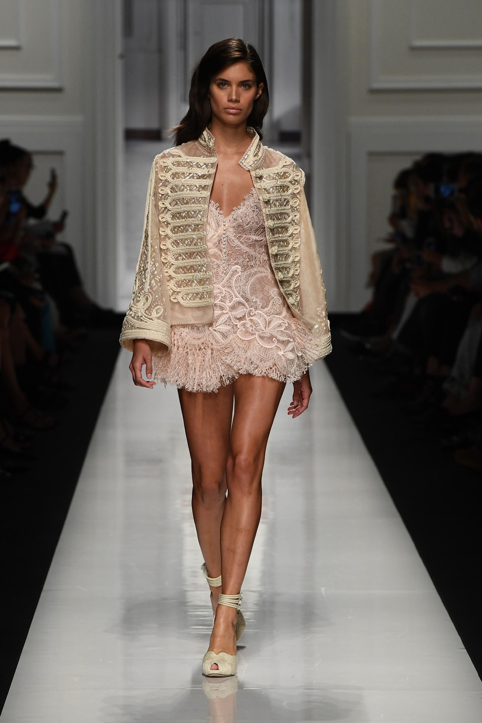 Model Fashion Show Ermanno Scervino