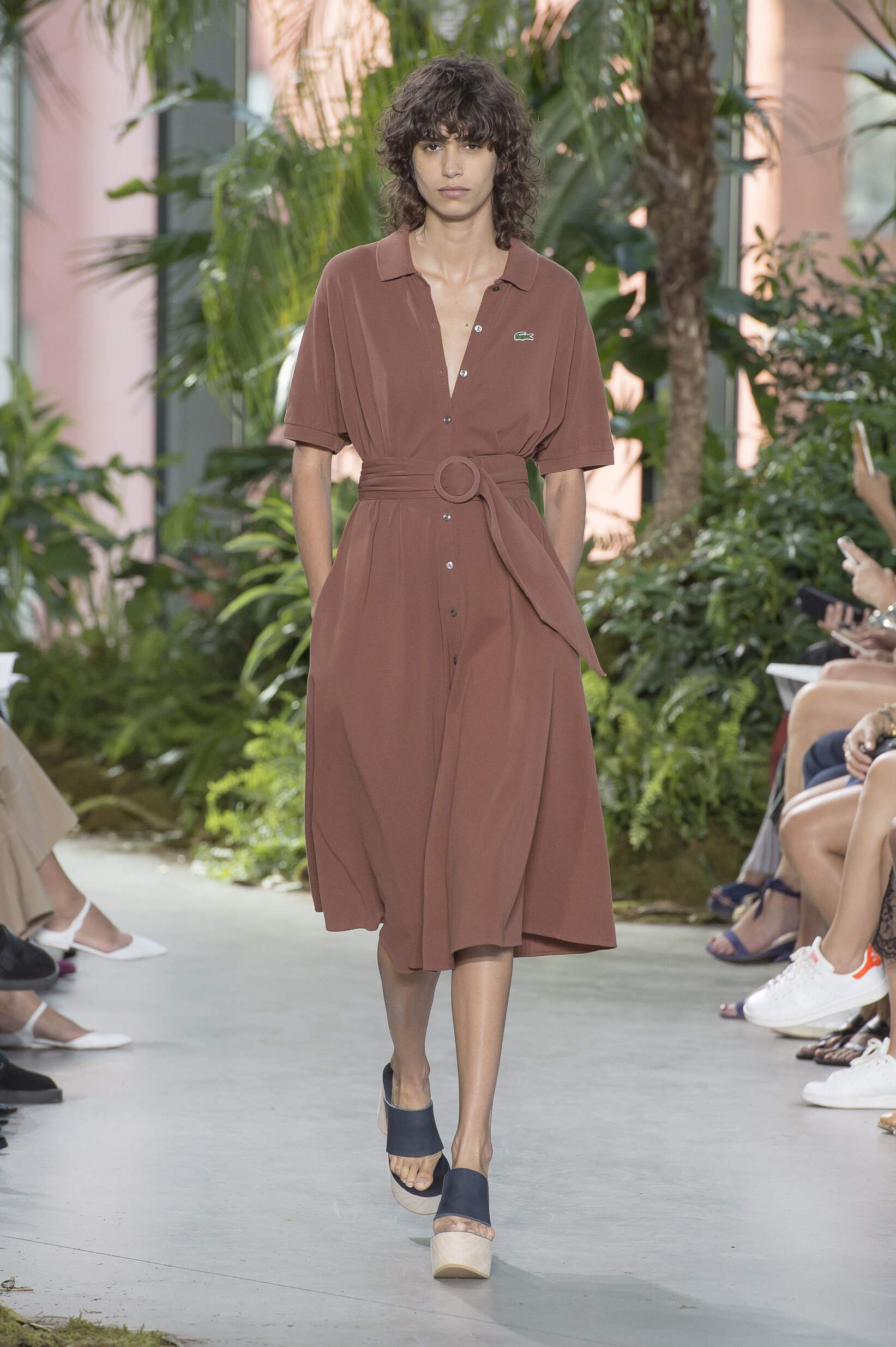 Model Fashion Show Lacoste