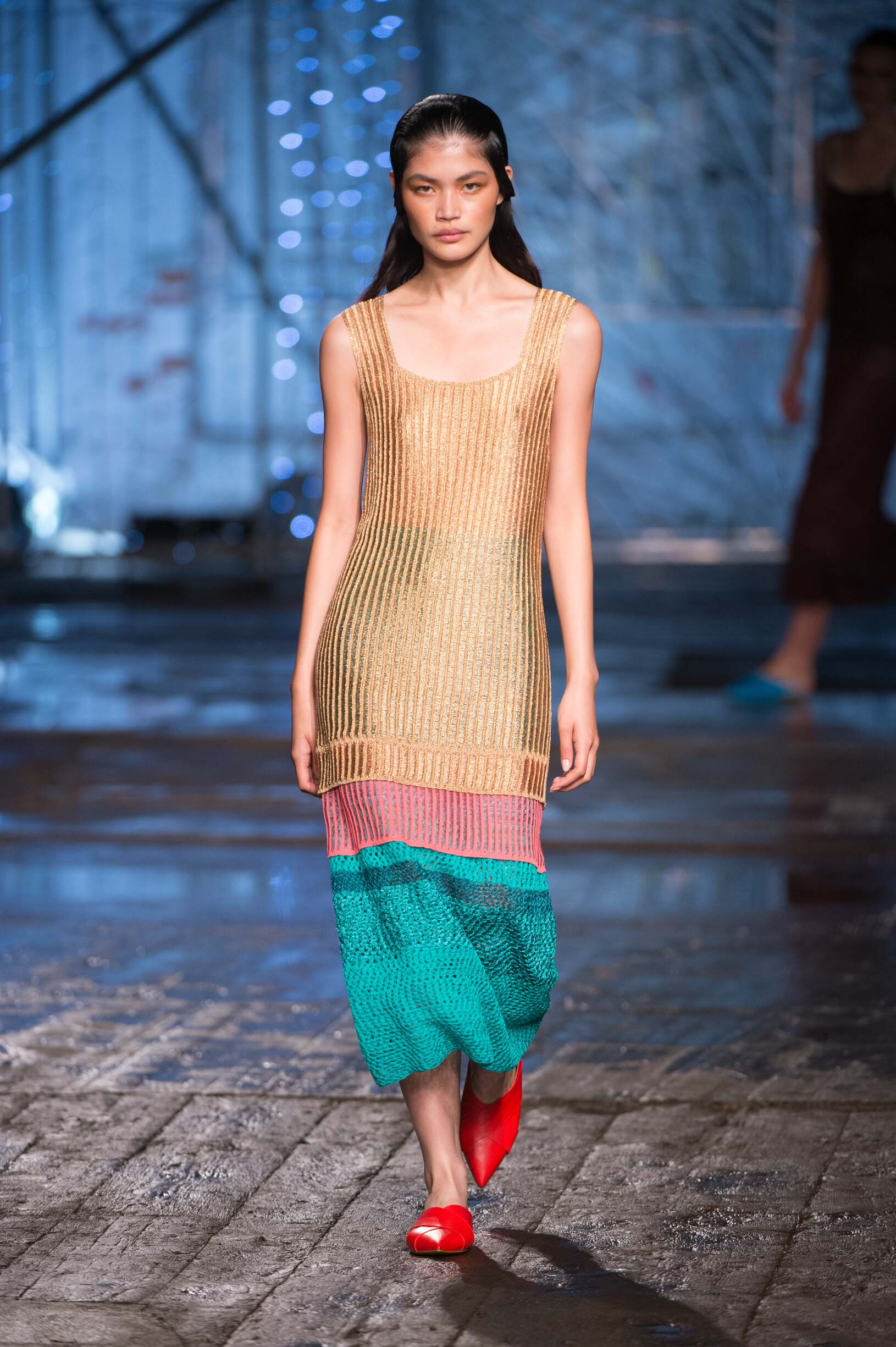 Model Fashion Show Missoni
