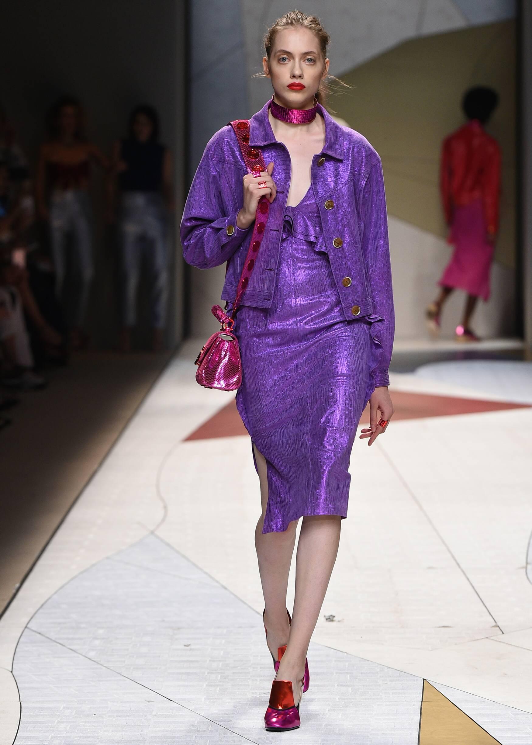 Model Fashion Show Trussardi