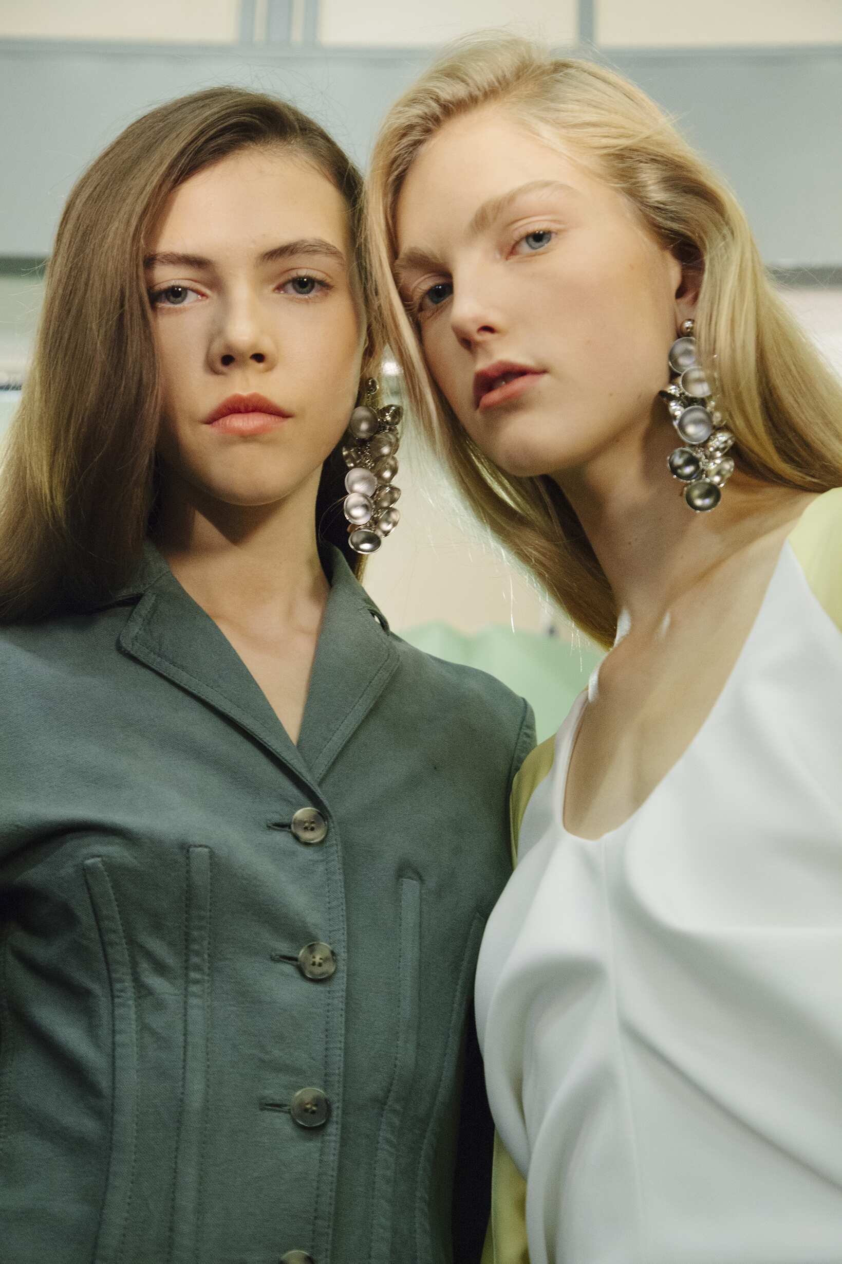 Models Backstage J.W. Anderson London