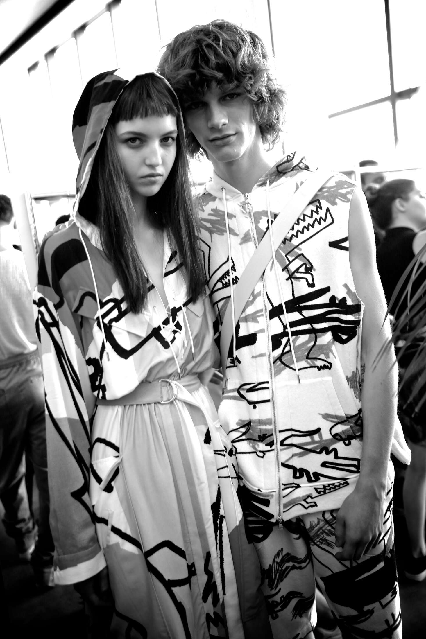 Models Backstage Lacoste SS 2017