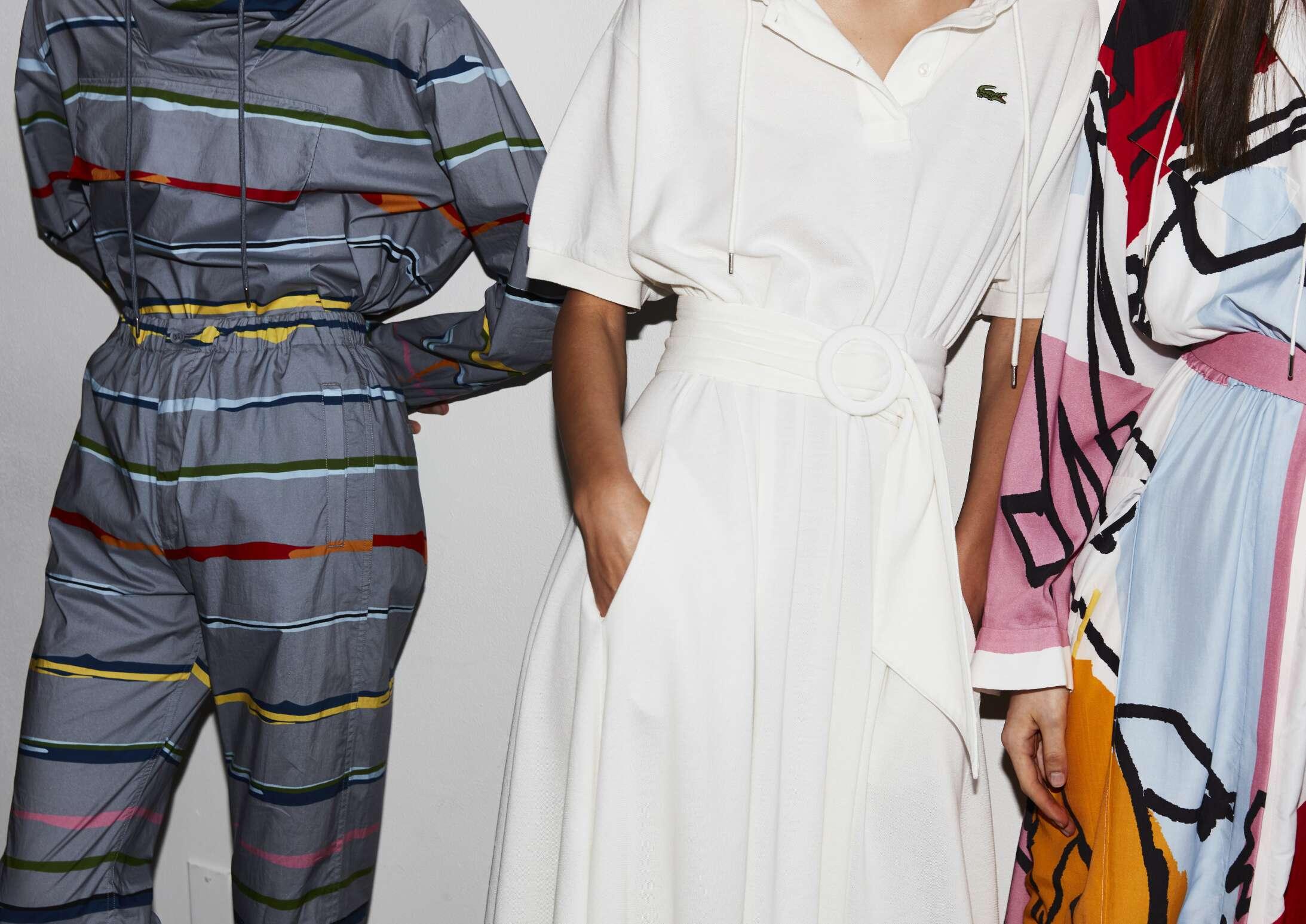 Models Lacoste Backstage