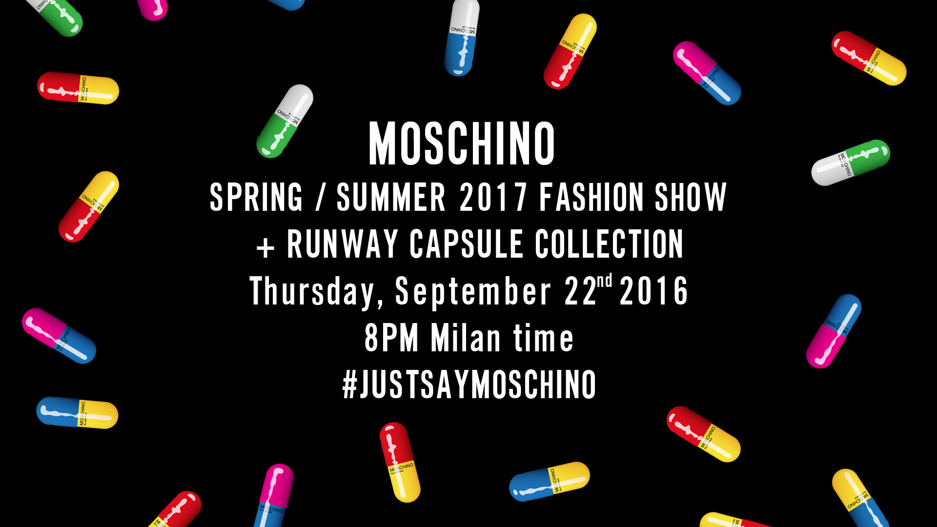 Moschino Spring Summer 2017 Women's Fashion Show Live Streaming Milan