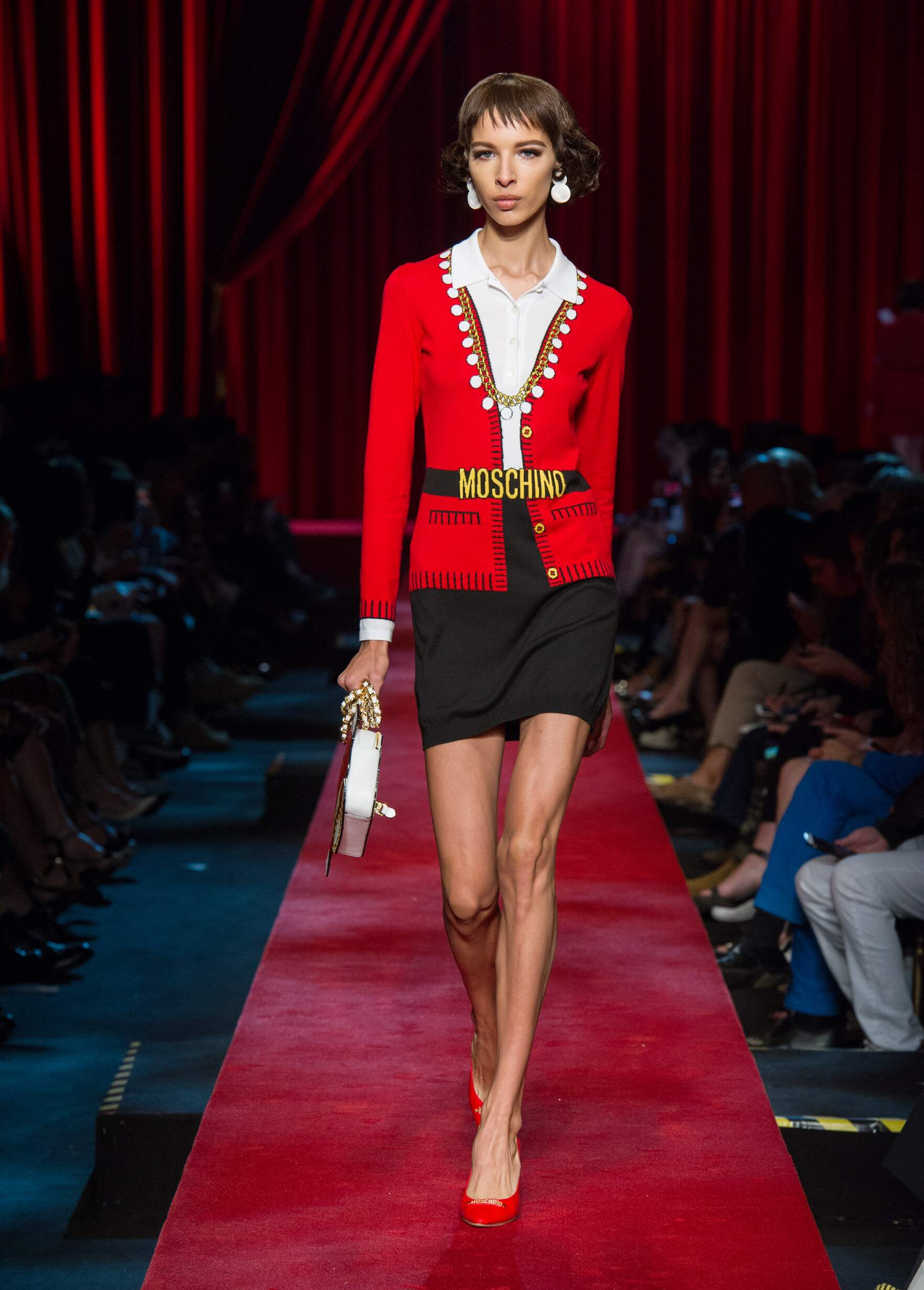 Moschino Spring Summer 2017 Womens Collection Milan Fashion Week