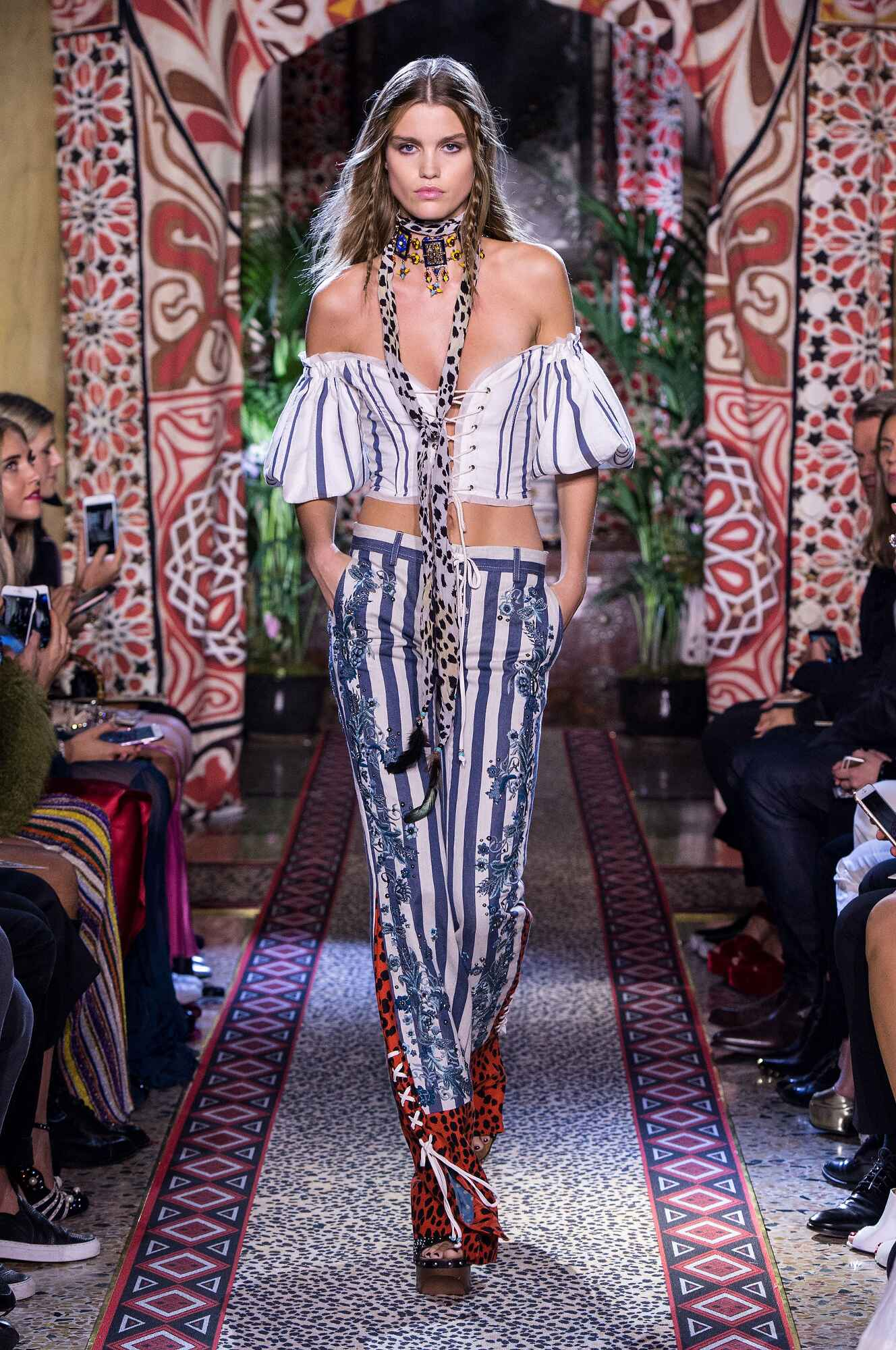 Roberto Cavalli Spring Summer 2017 Womens Collection Milan Fashion Week