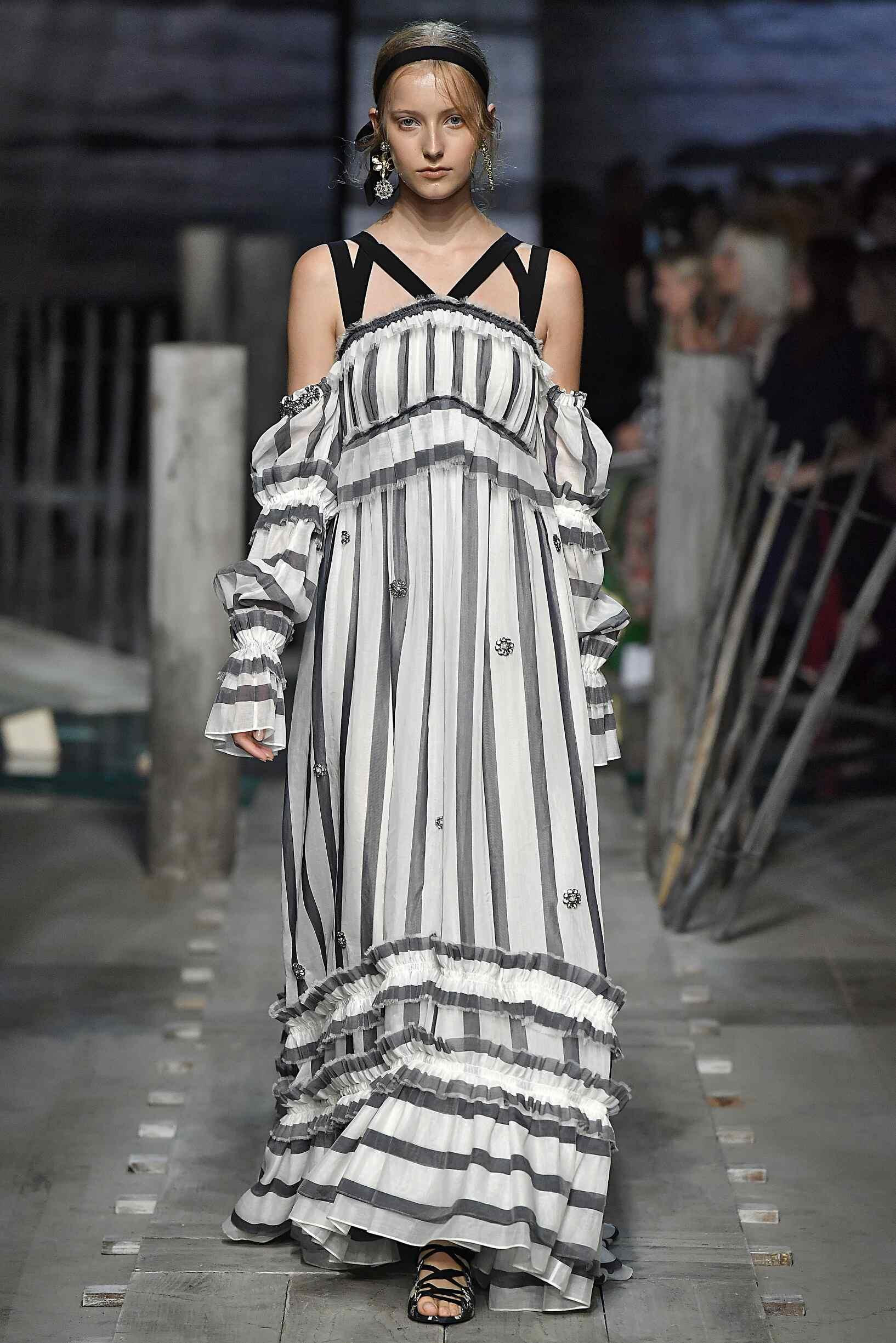 Runway Erdem Spring Summer 2017 Women's Collection London Fashion Week