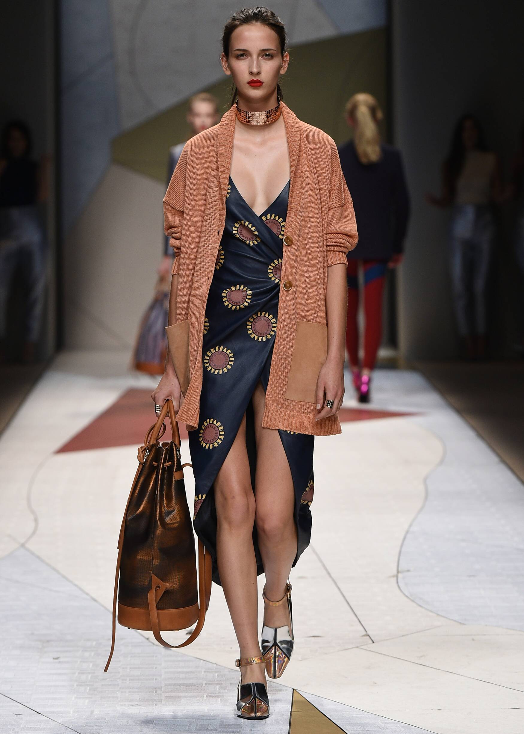 Runway Trussardi Spring Summer 2017 Women's Collection Milan Fashion Week