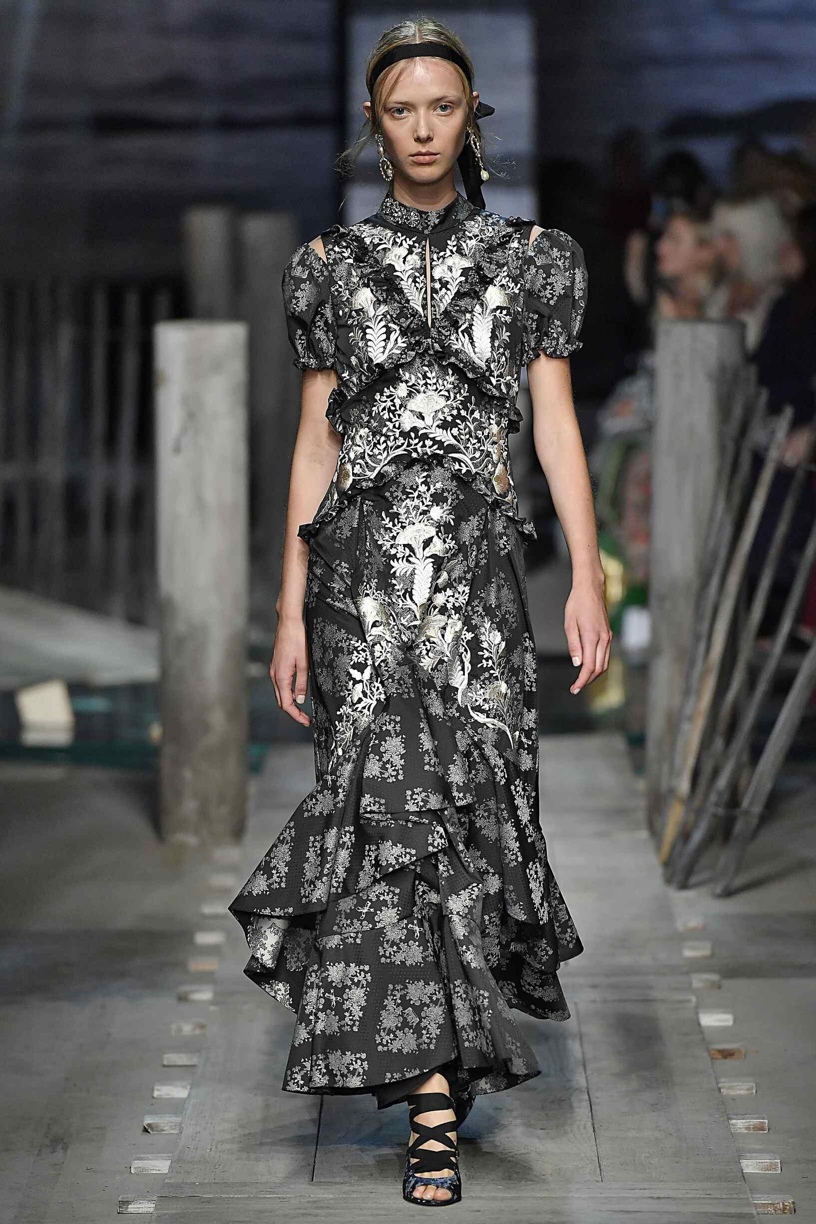 SS 2017 Erdem Fashion Show