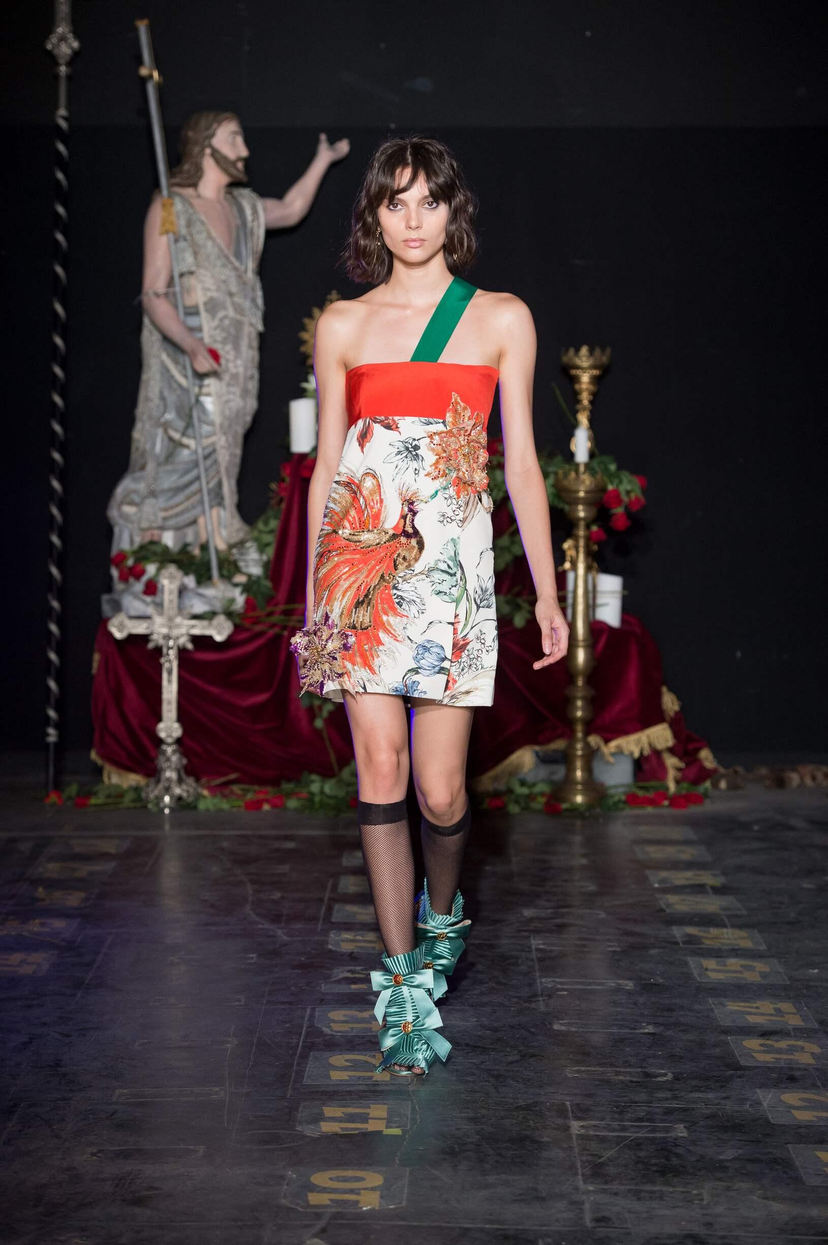 SS 2017 Fashion Show Fausto Puglisi