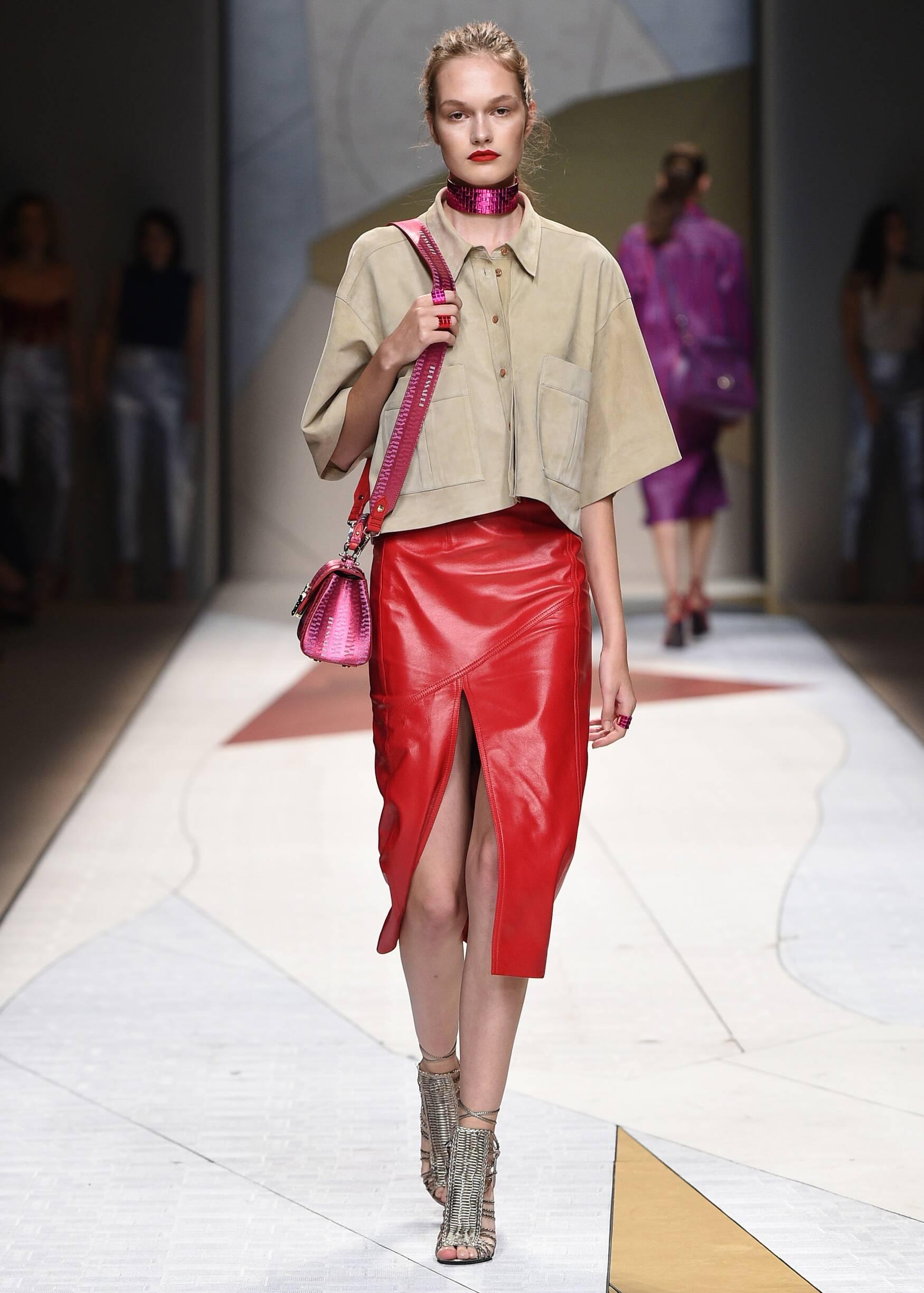 SS 2017 Fashion Show Trussardi