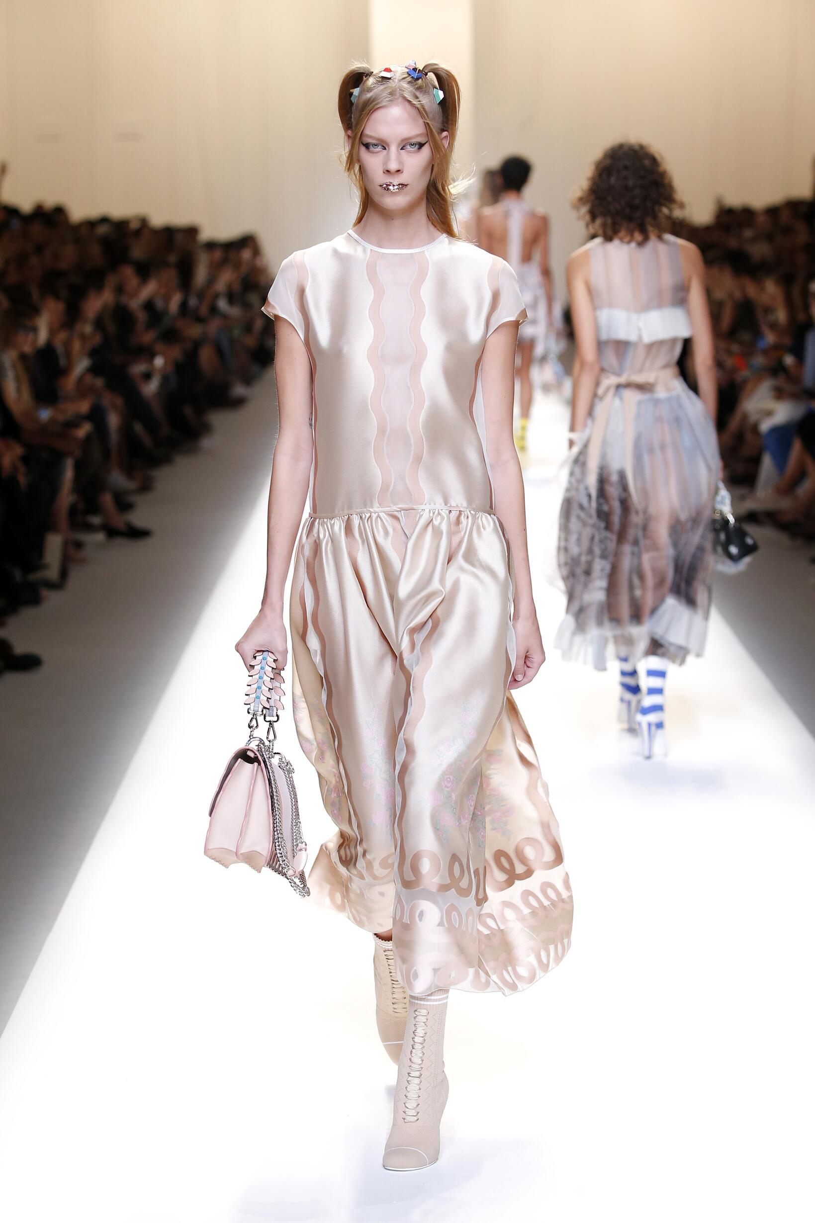SS 2017 Fendi Fashion Show Milan Fashion Week