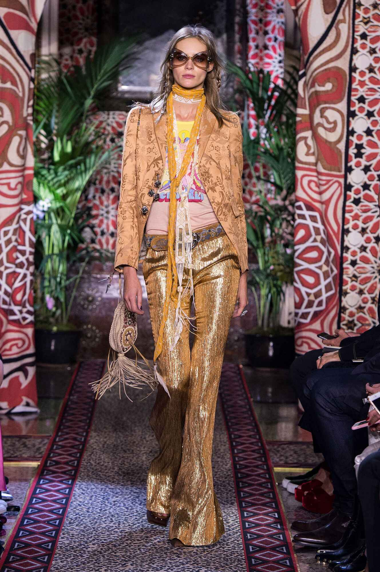 SS 2017 Roberto Cavalli Fashion Show Milan