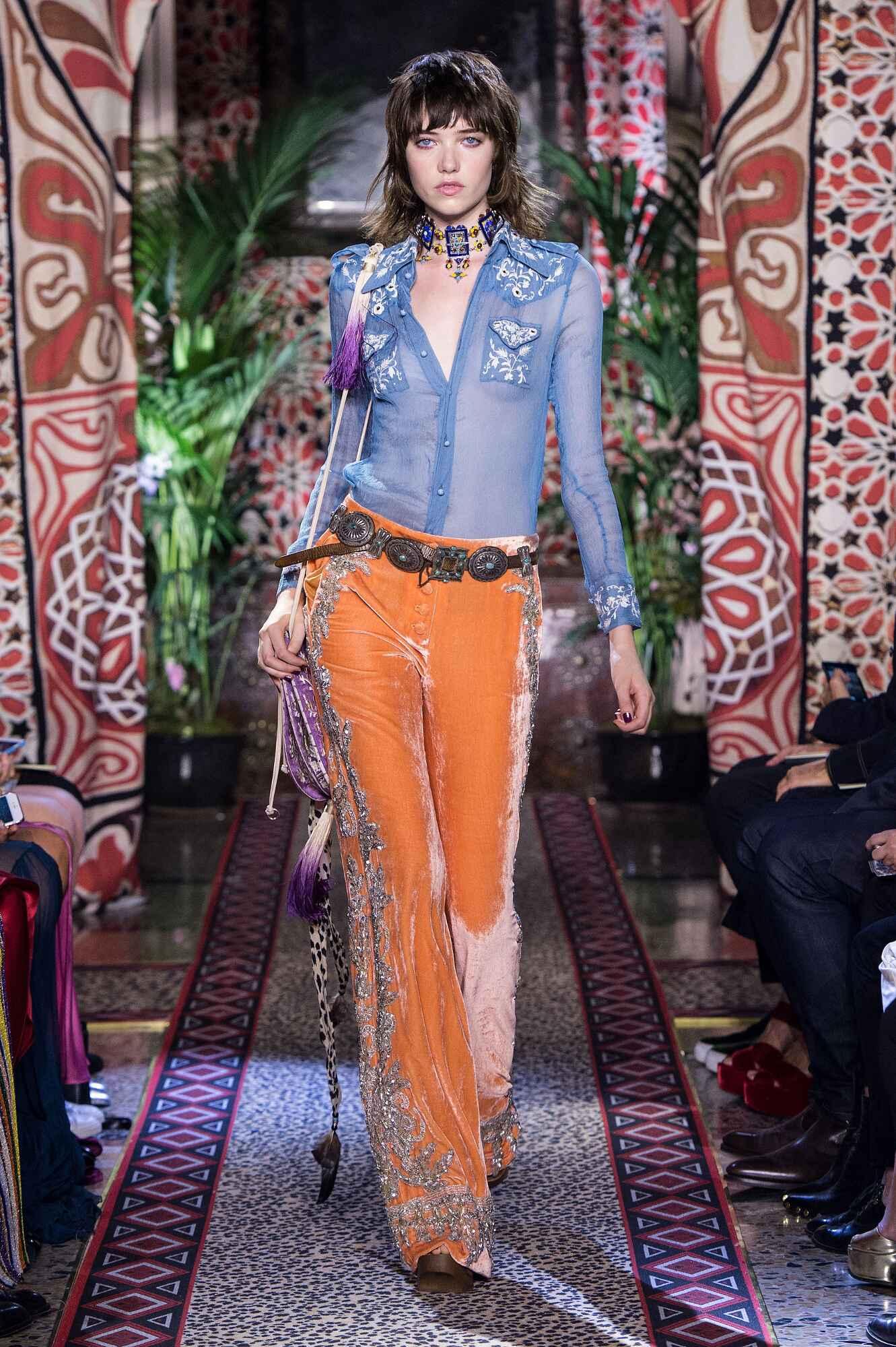 SS 2017 Roberto Cavalli Fashion Show