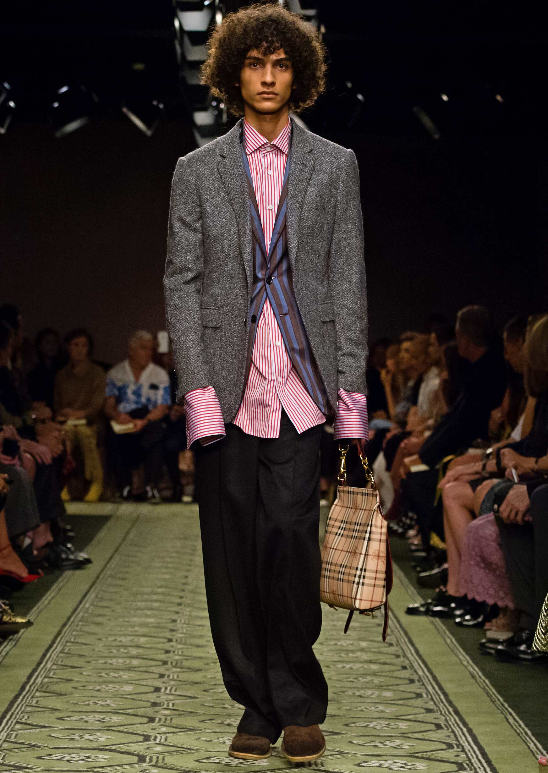 September 2016 Man London Burberry Fashion Collection