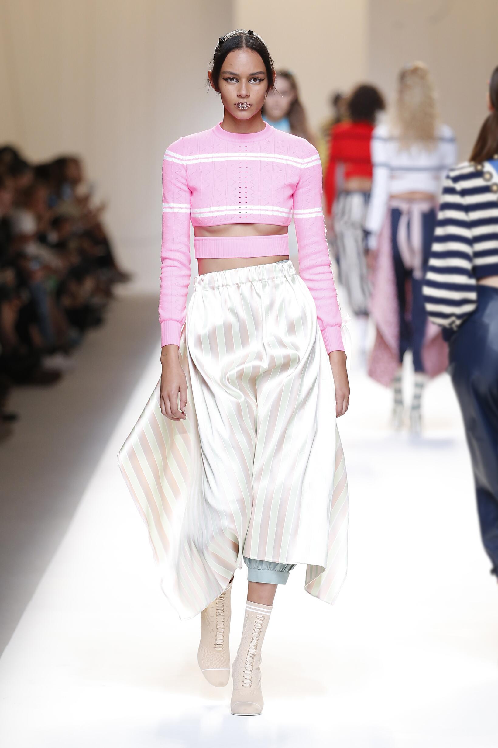 Spring 2017 Fashion Trends Fendi