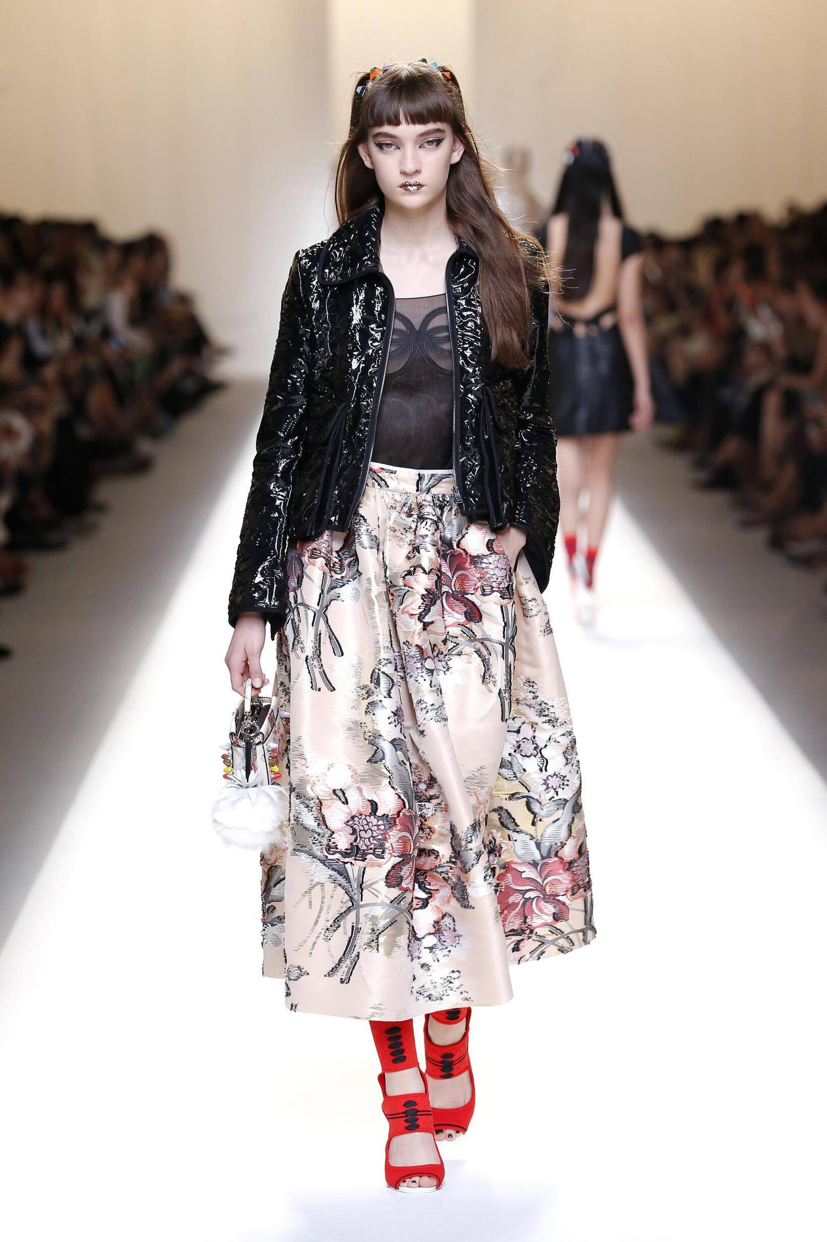Spring Summer 2017 Woman Milan Fendi Collection