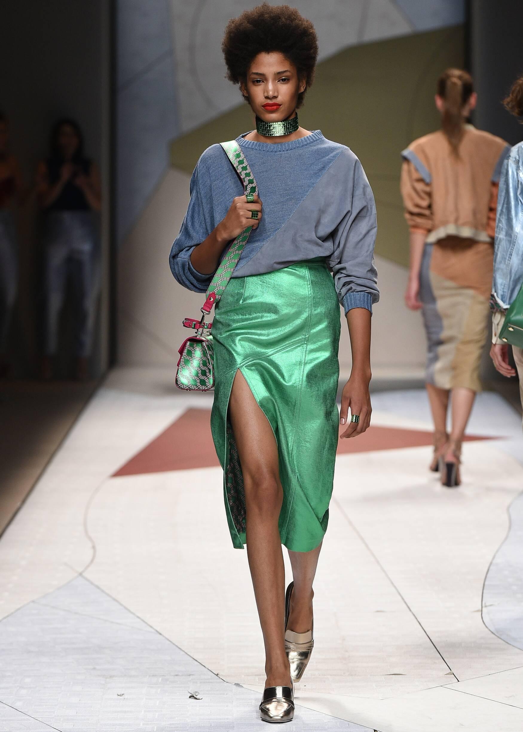 Spring Summer 2017 Woman Milan Trussardi Collection