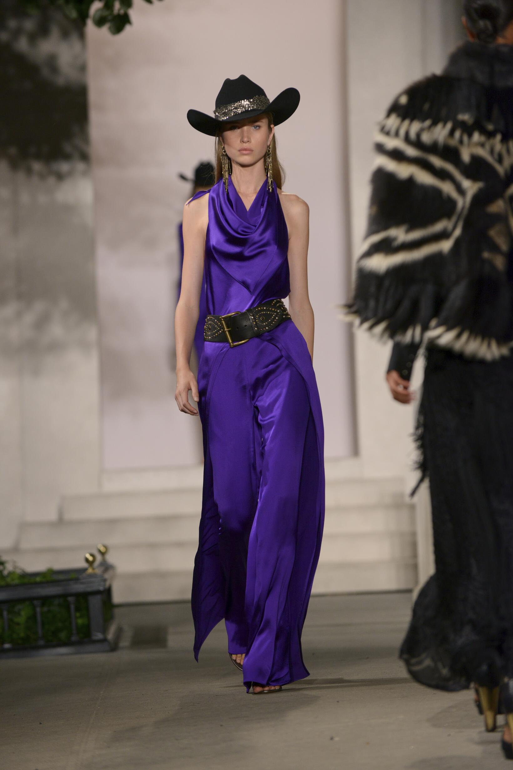Spring Summer 2017 Woman New York Ralph Lauren Collection