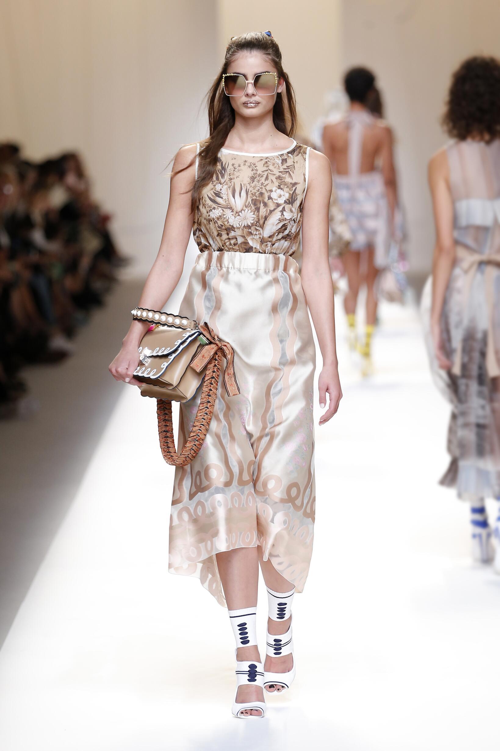 Spring Summer Fashion Trends 2017 Fendi