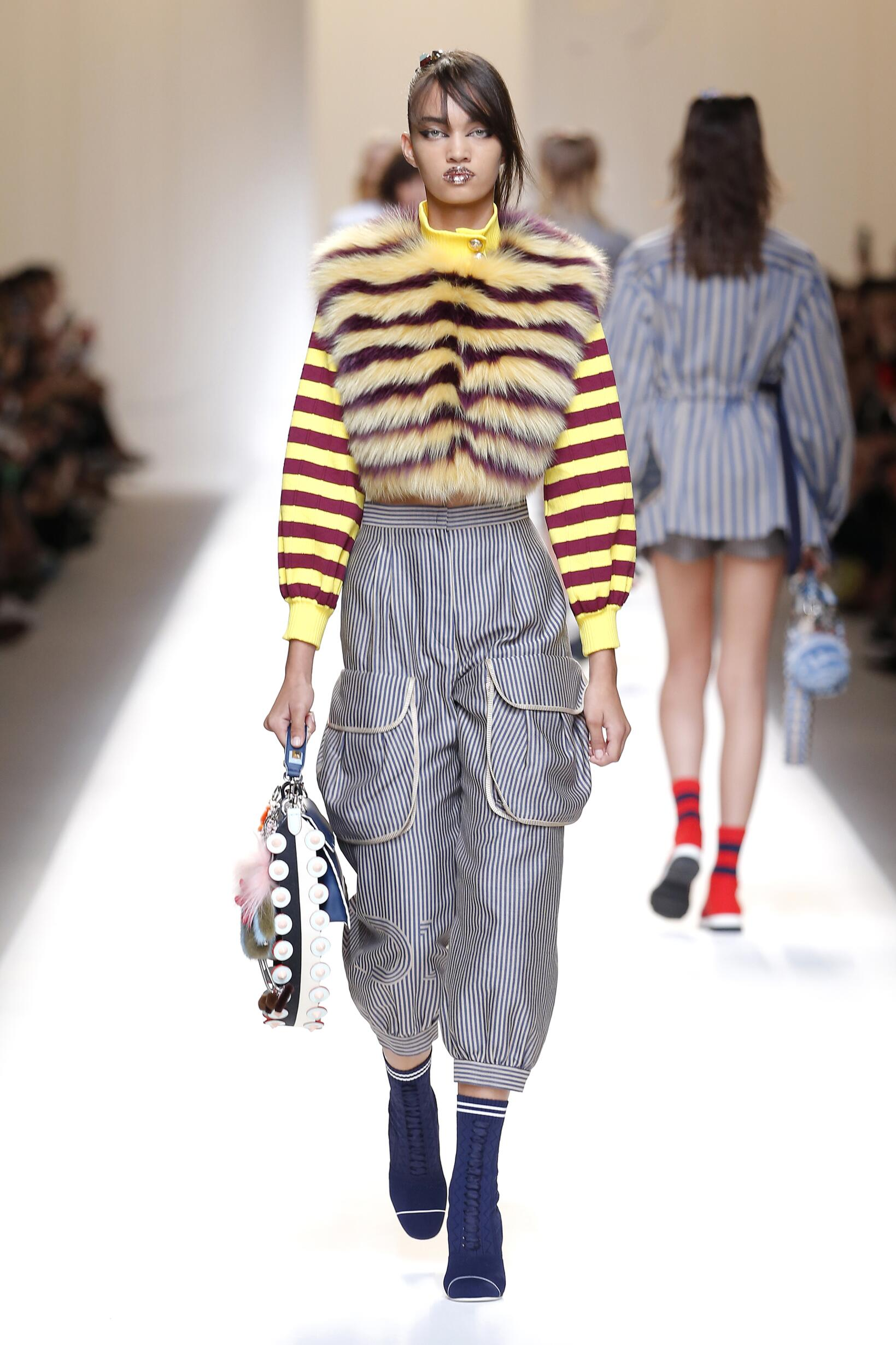Summer 2017 Fashion Trends Fendi