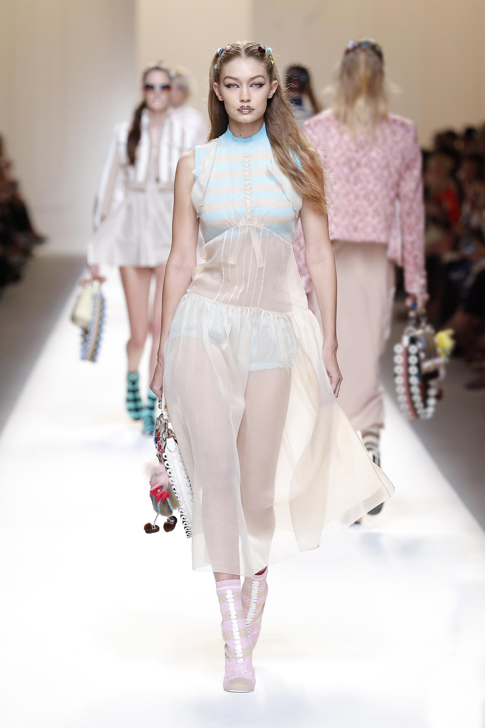 Summer 2017 Woman Trends Fendi