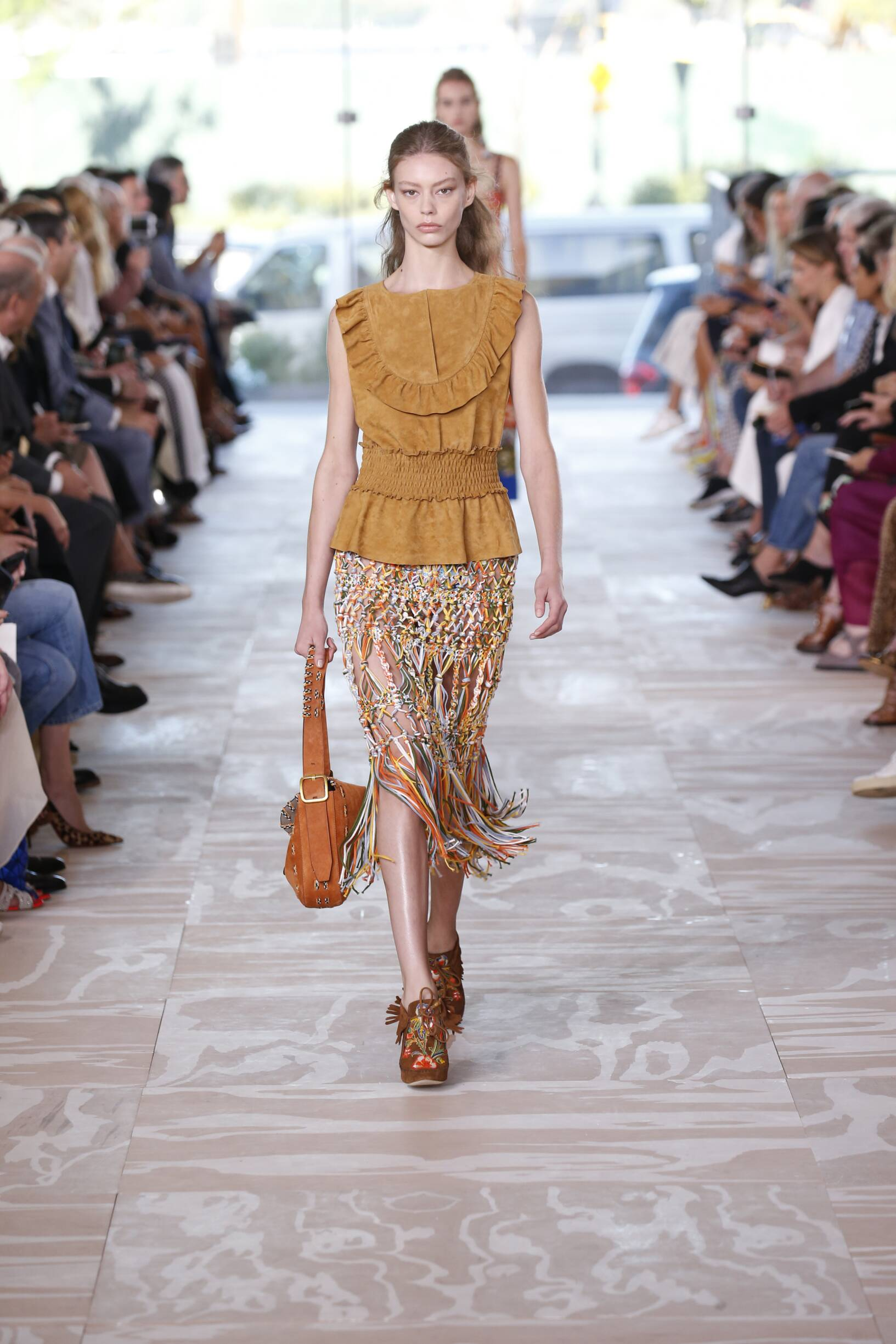 Tory Burch Summer 2017 Catwalk