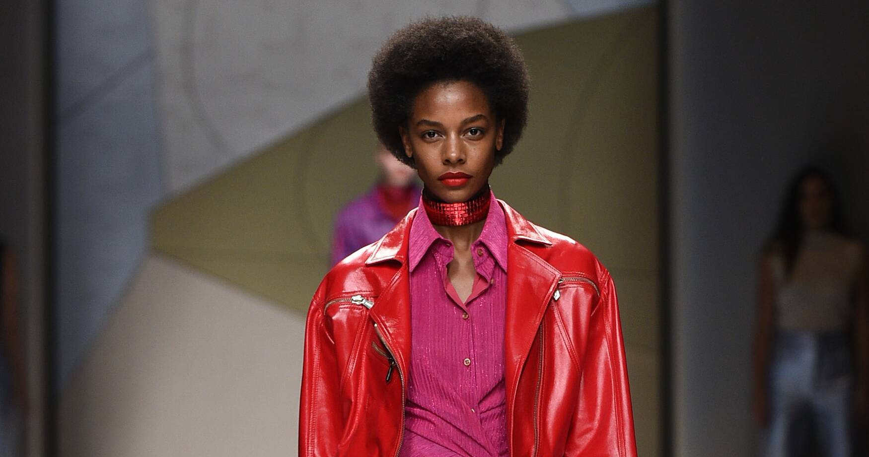 Trussardi Fashion Show SS 2017 Milan