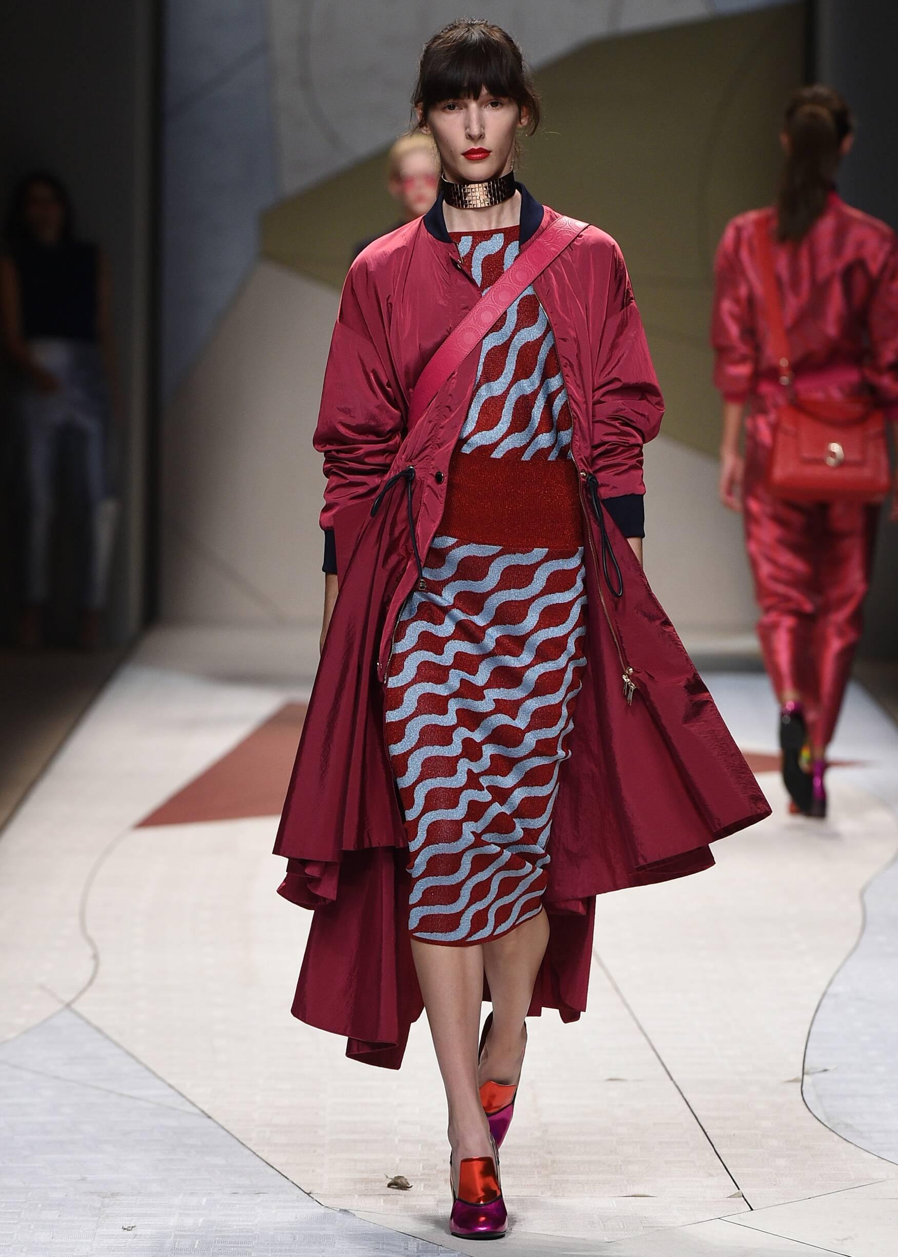 Trussardi Spring Summer 2017 Womens Collection Milan Fashion Week