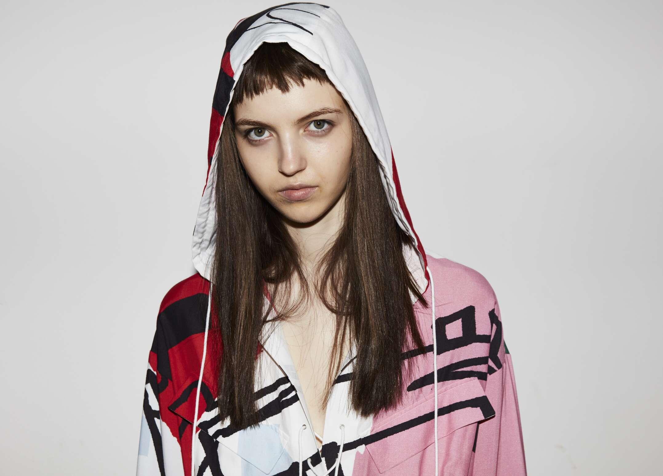 Woman Model Lacoste